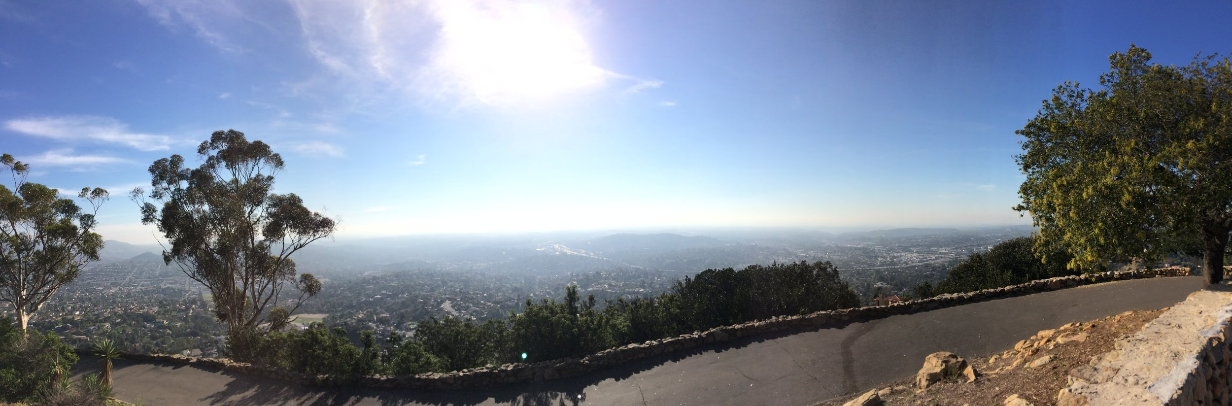 Mount Helix, a place with fantastic views, and possibly, one lonesome ghost.