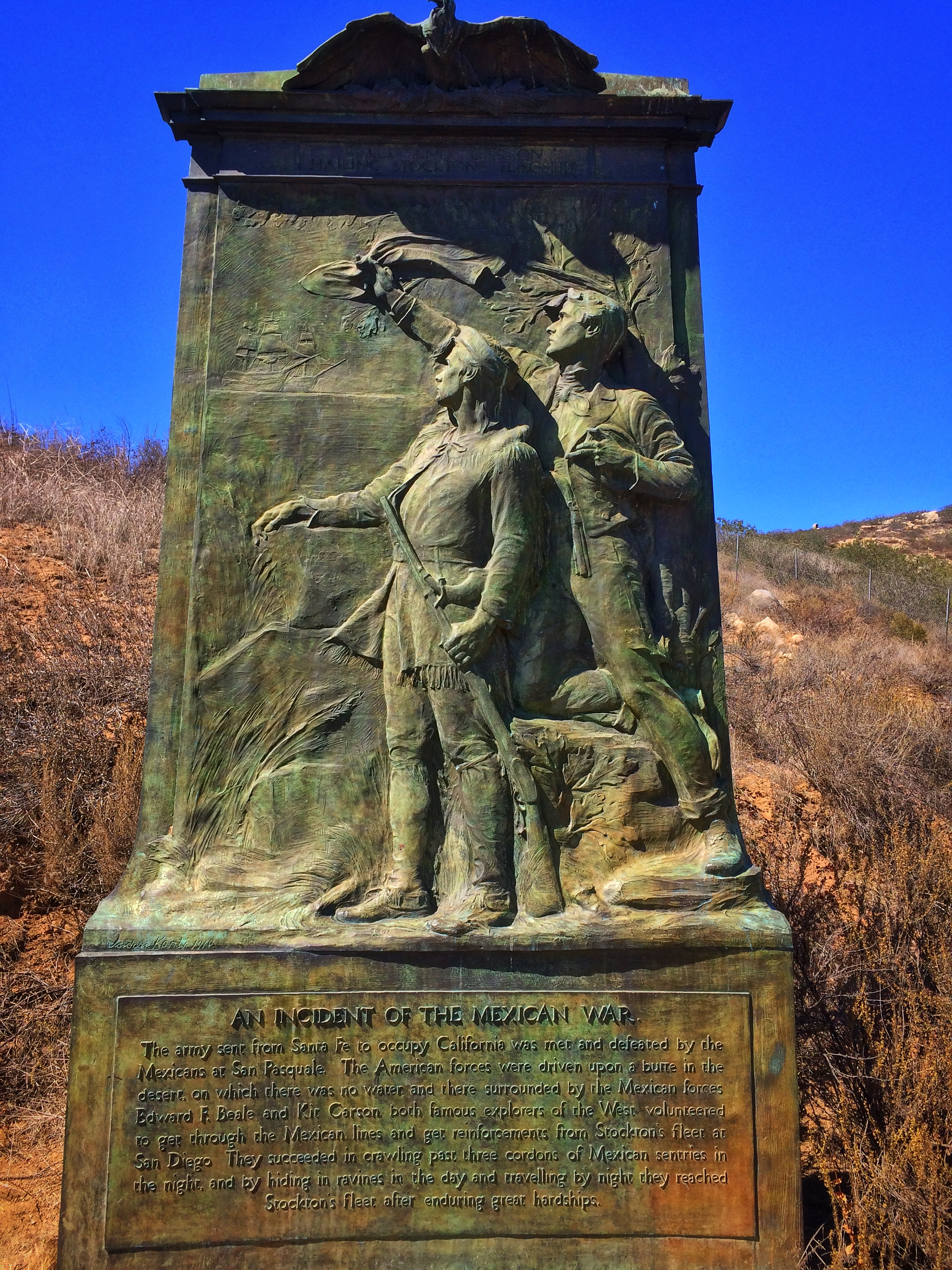 San Pasqual Battlefield: a historic spot with some lingering apparitions.