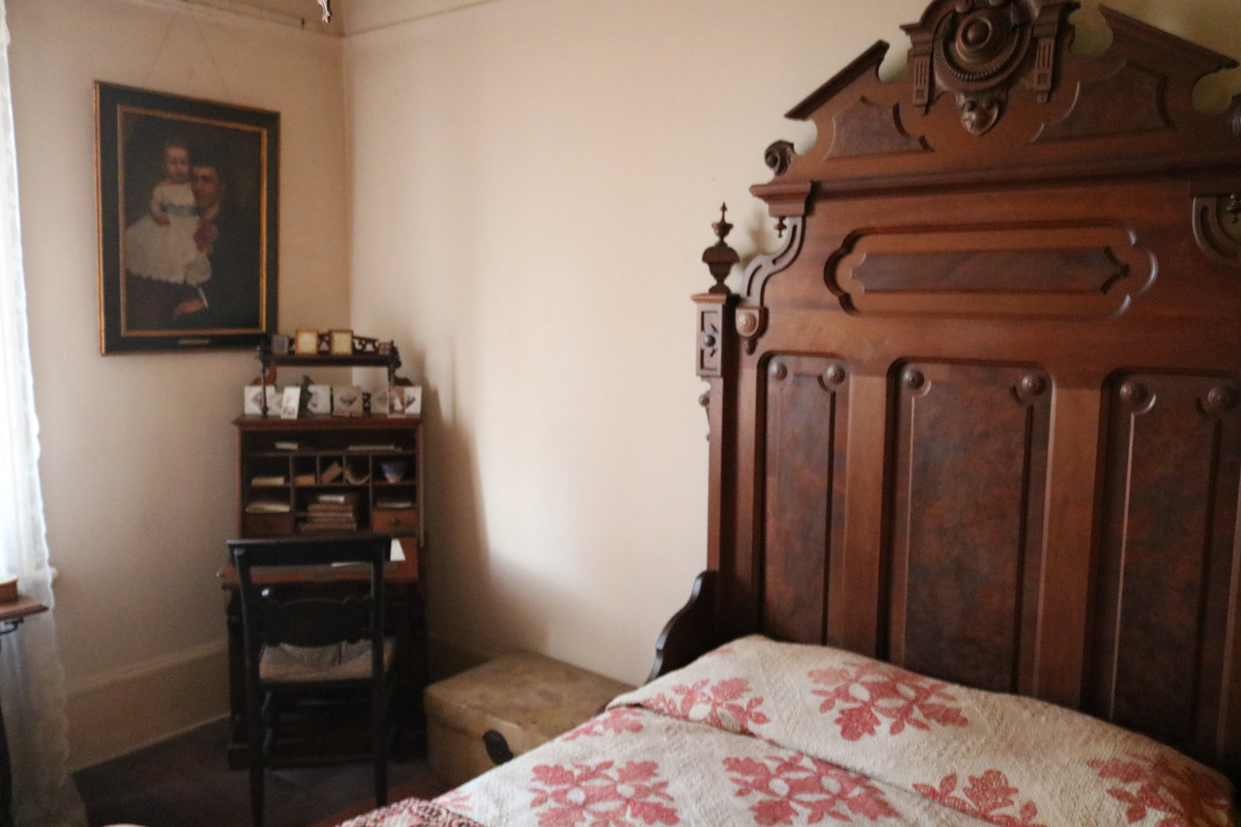Thomas Whaley's bedroom, Whaley House