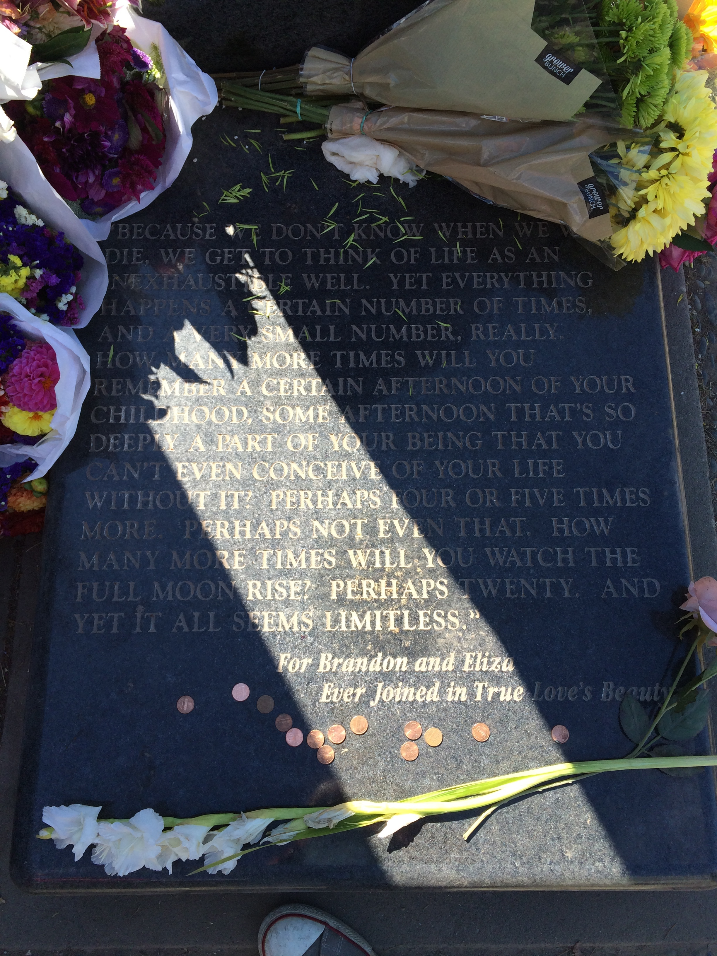 Headstone, Brandon Lee