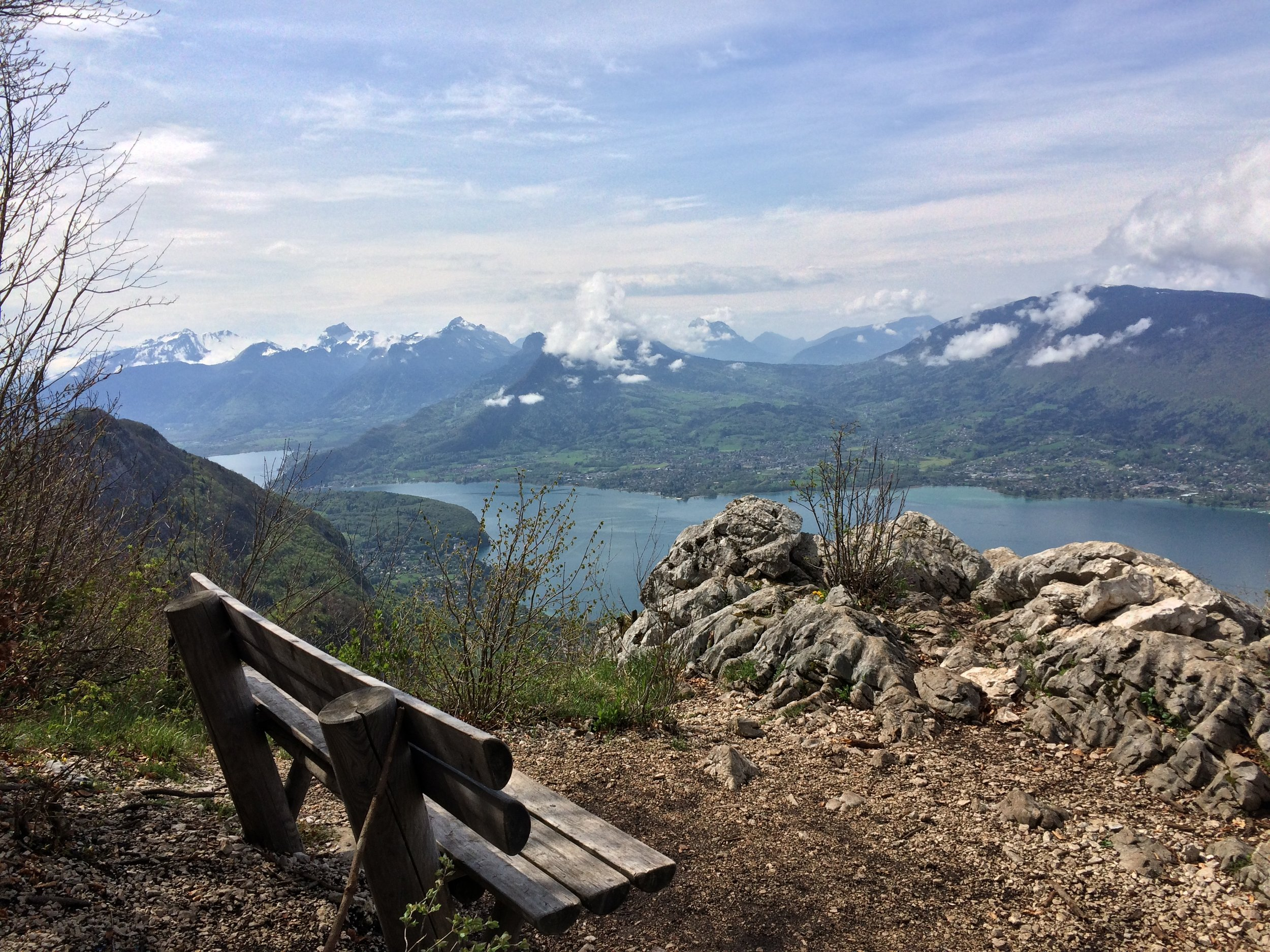 Mount Veyrier dominates Lake Annecy's eastern shore, and provides excellent views for any hiker.