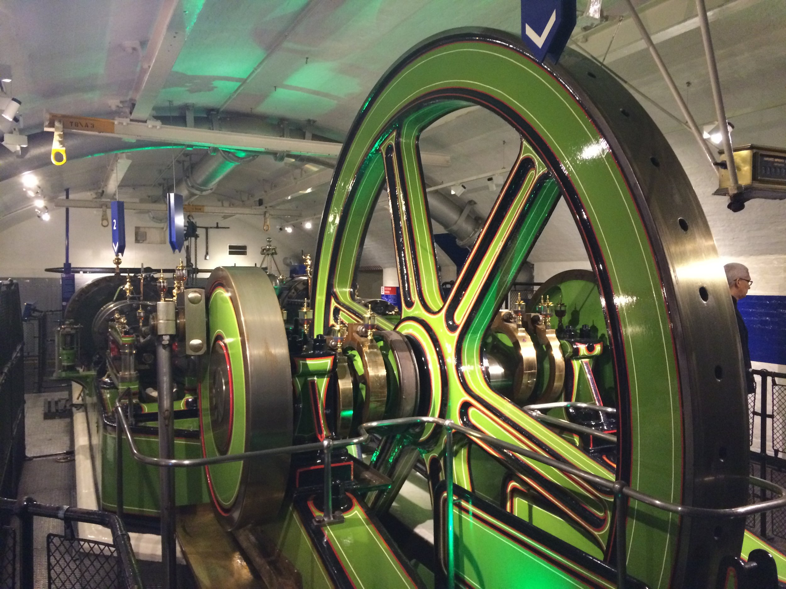 The Tower Bridge Experience also houses the original bascule system of the bridge.
