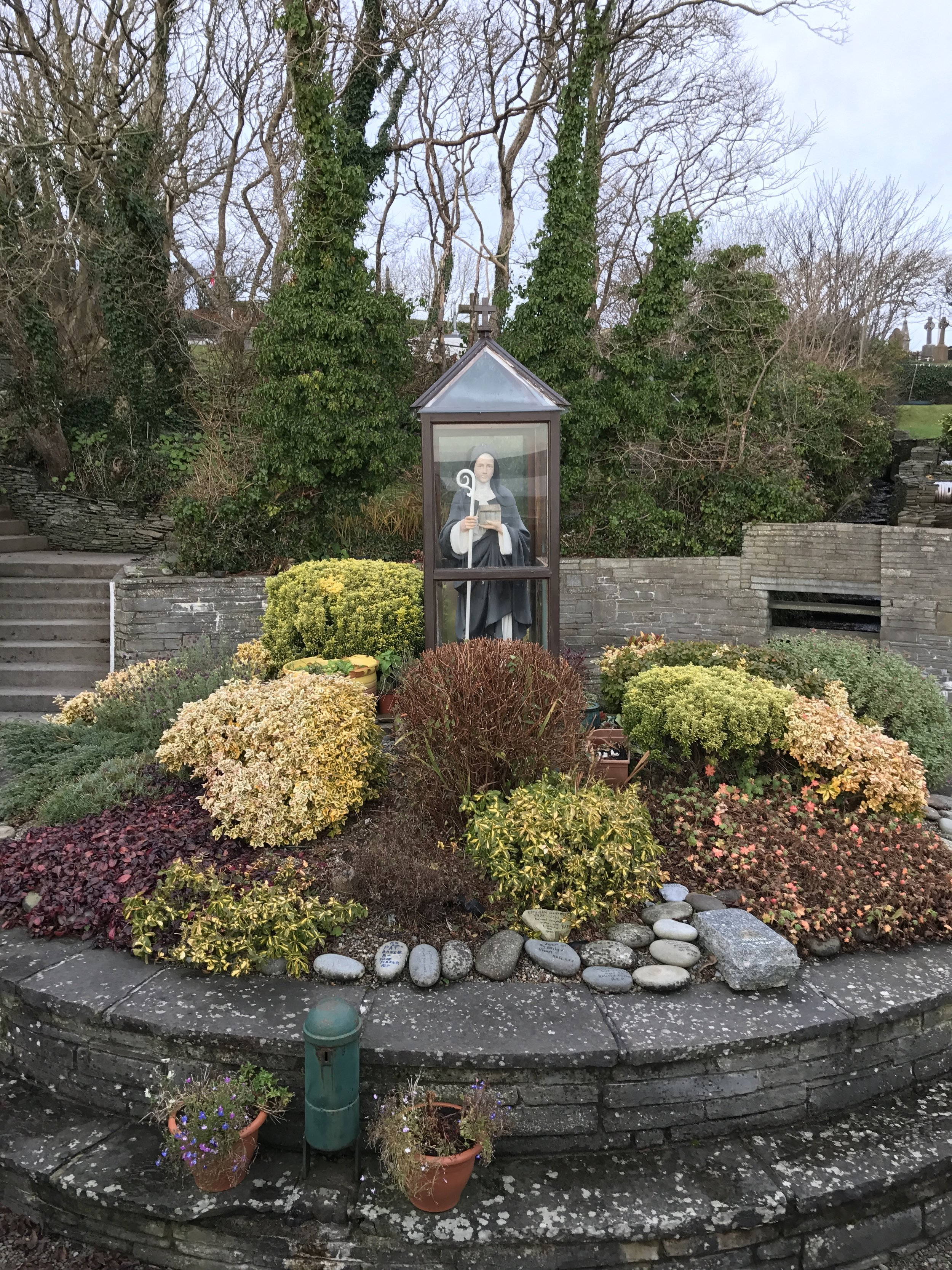 St. Brigid's shrine and well are a long standing holy place in both the pre and post Christian tradition in Ireland.