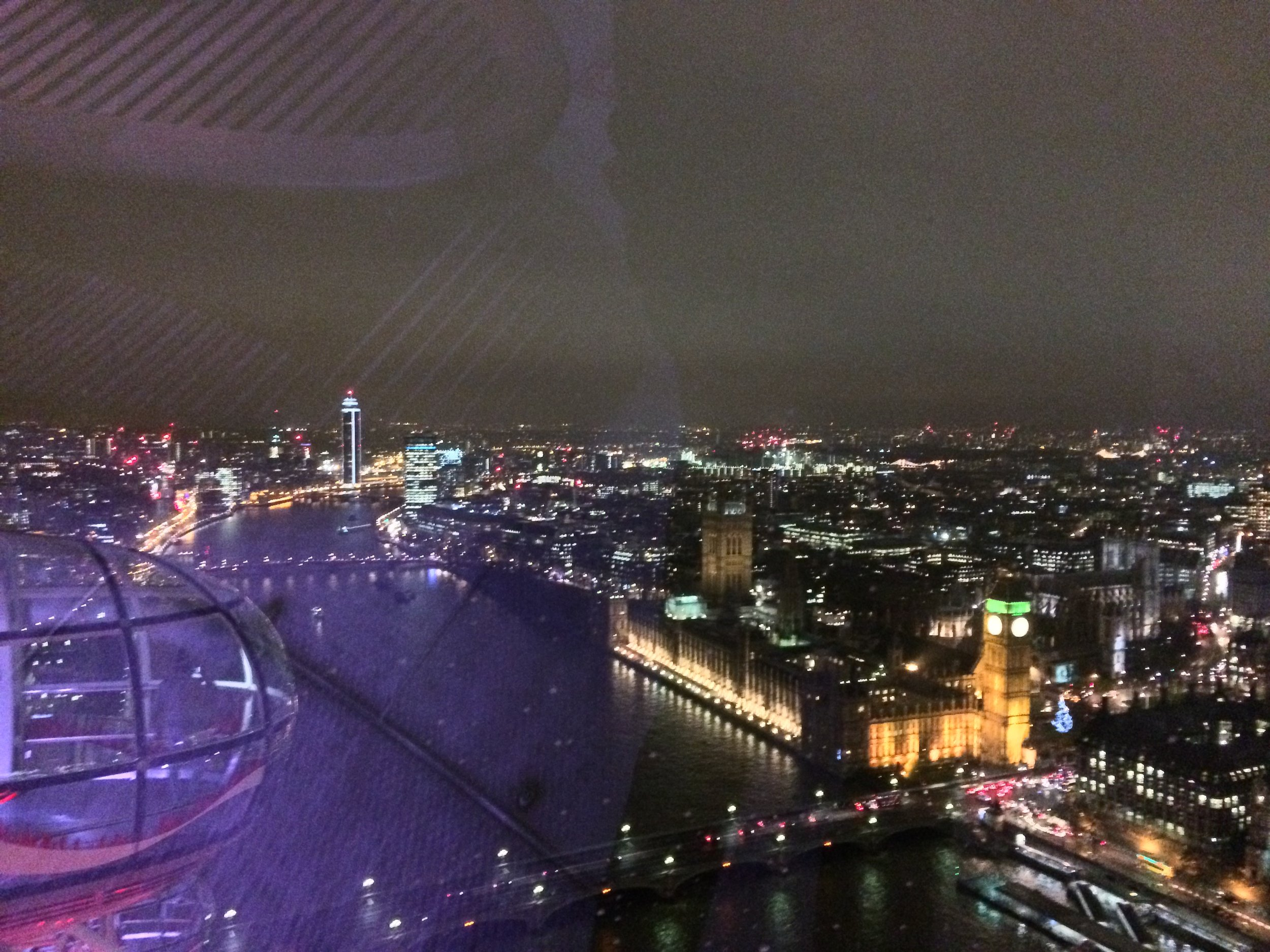 The Eye has great views of Big Ben, and the Westminster region overall.