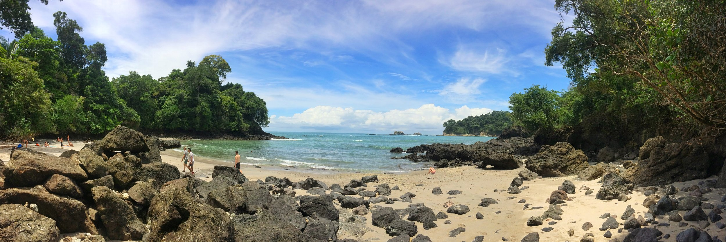 Manuel Antonio National Park has many stunning beaches, including Playa Gemelas