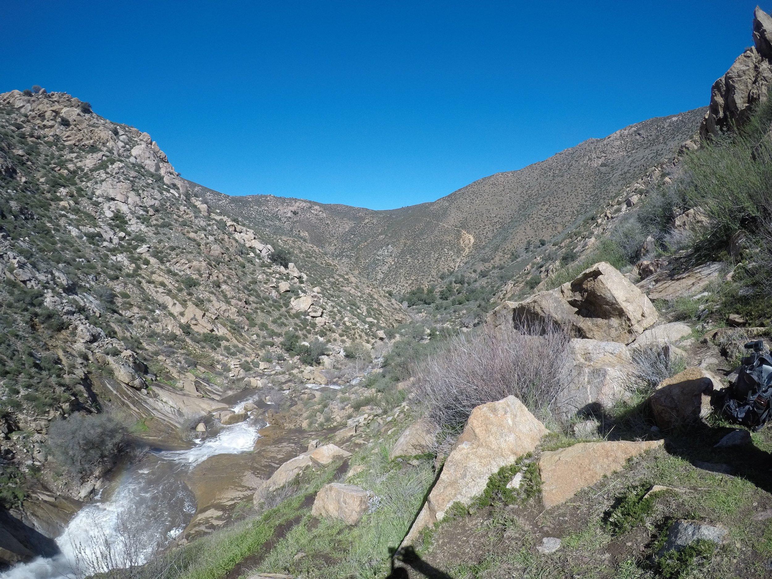 Boulder Creek, Three Sisters Falls Hike