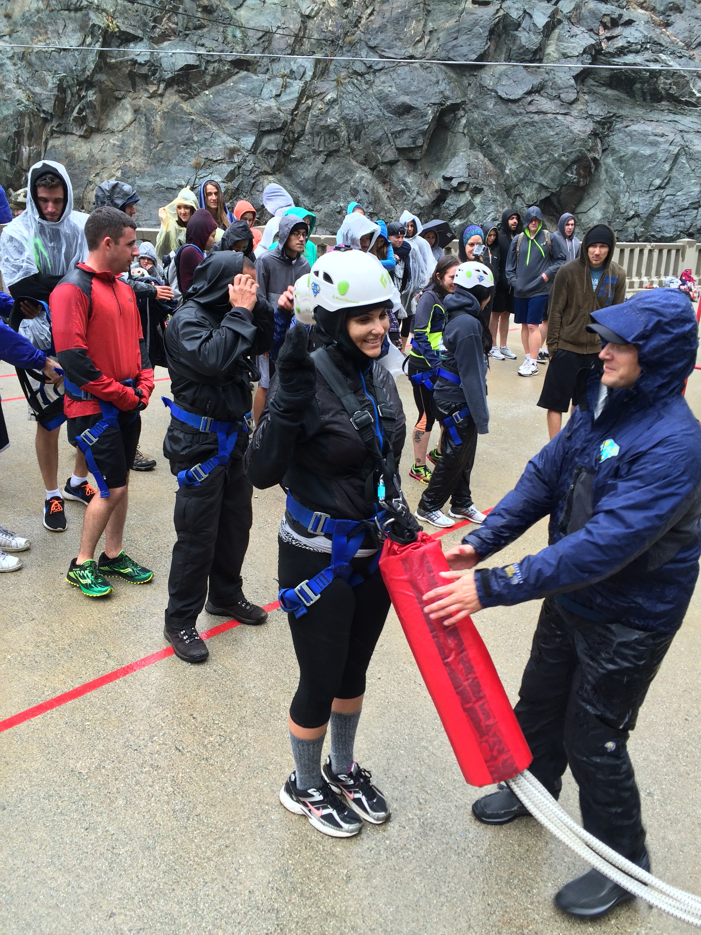 No matter the conditions, Bungee America keeps its patrons safe and well-organized.
