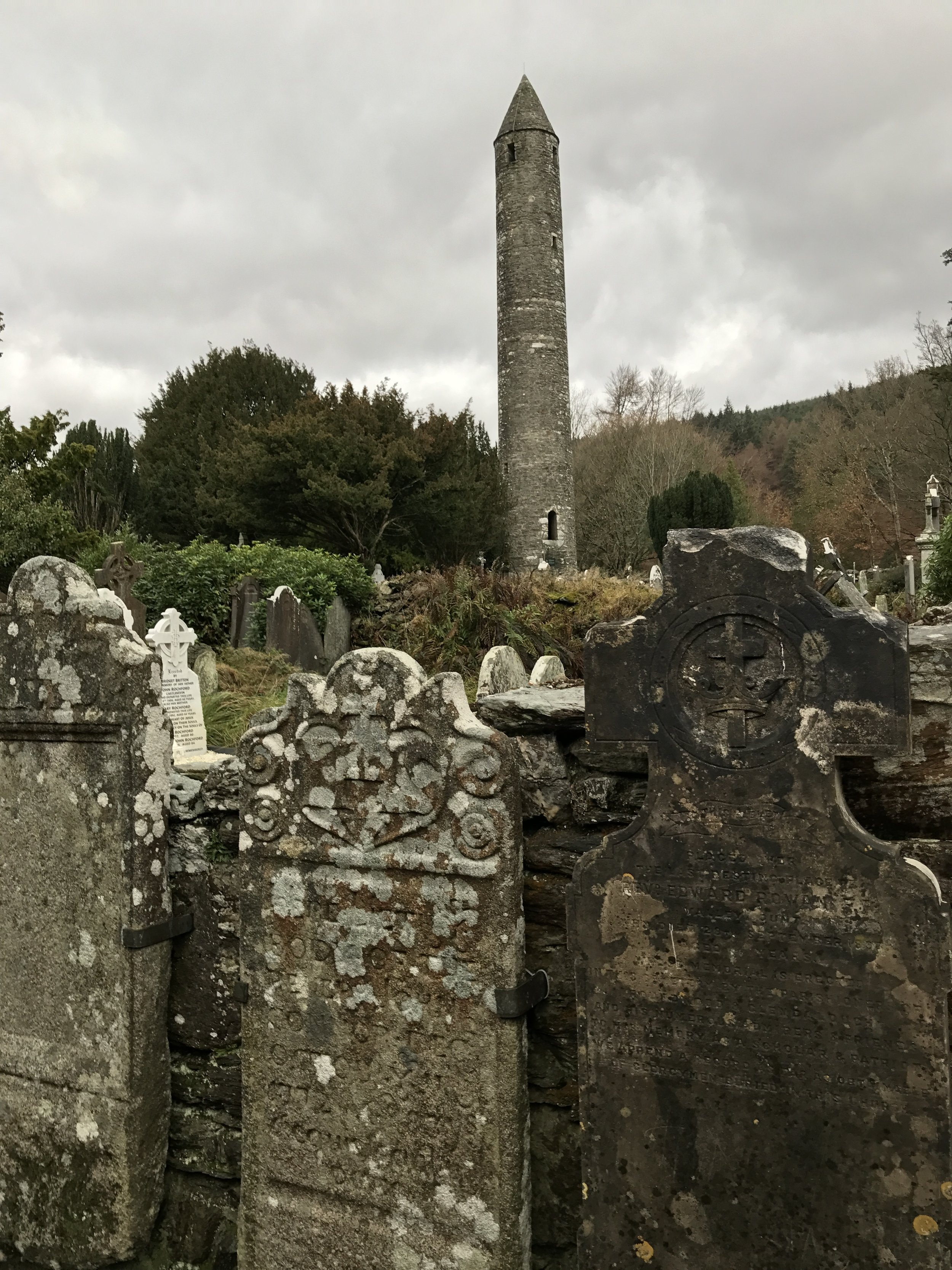 Despite the years, Glendalough remains a pilgrimage location for many people.