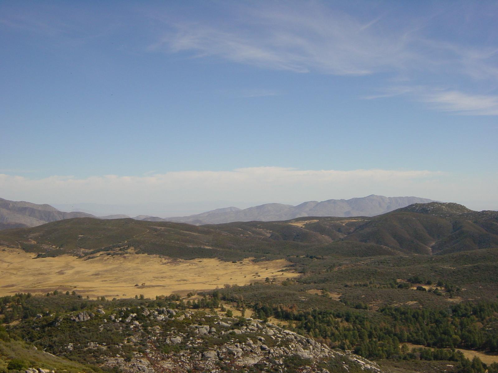 Southern view, Stonewall Peak