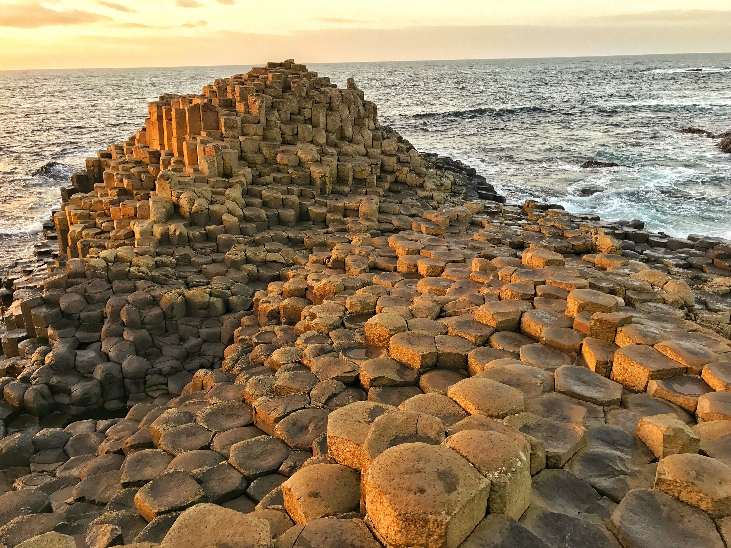 The Giant's Causeway is Northern Ireland's top natural wonder, and is a spot with a plethora of legends and stories.