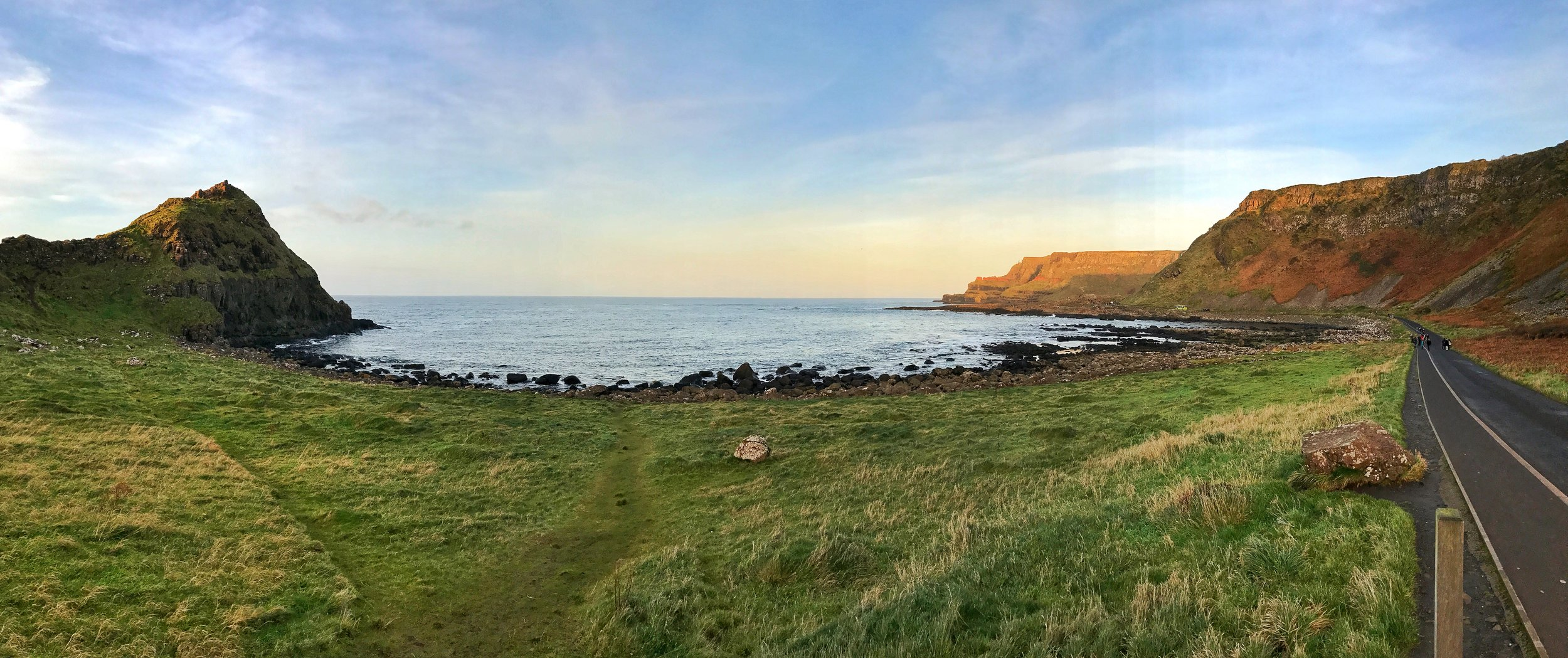 The Giant's Causeway is now part of the United Kingdom's National Trust, and has many walking trails in and around the Causeway.