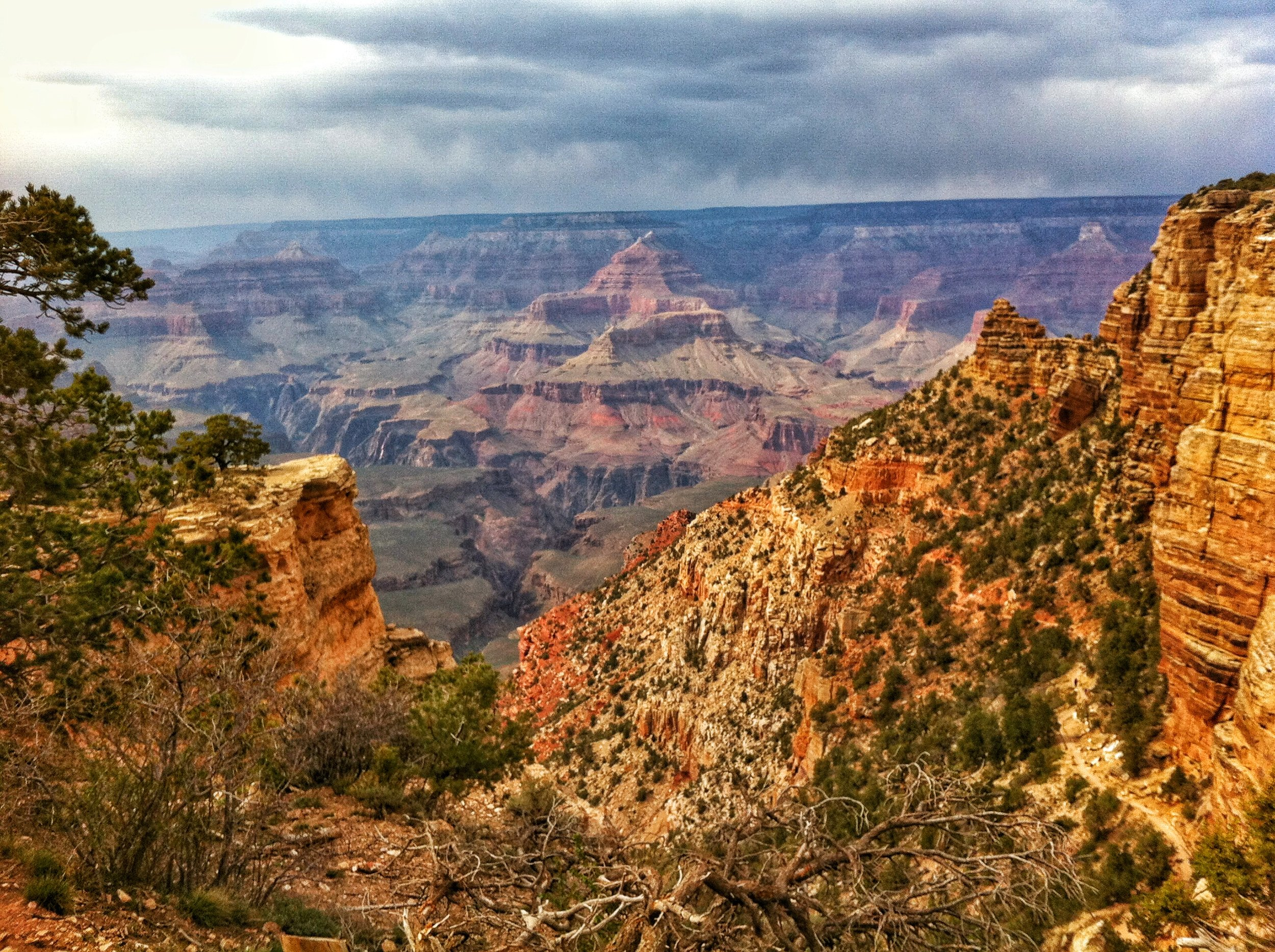 While there's not a bad view at the Grand Canyon, things only get better when on the trail.