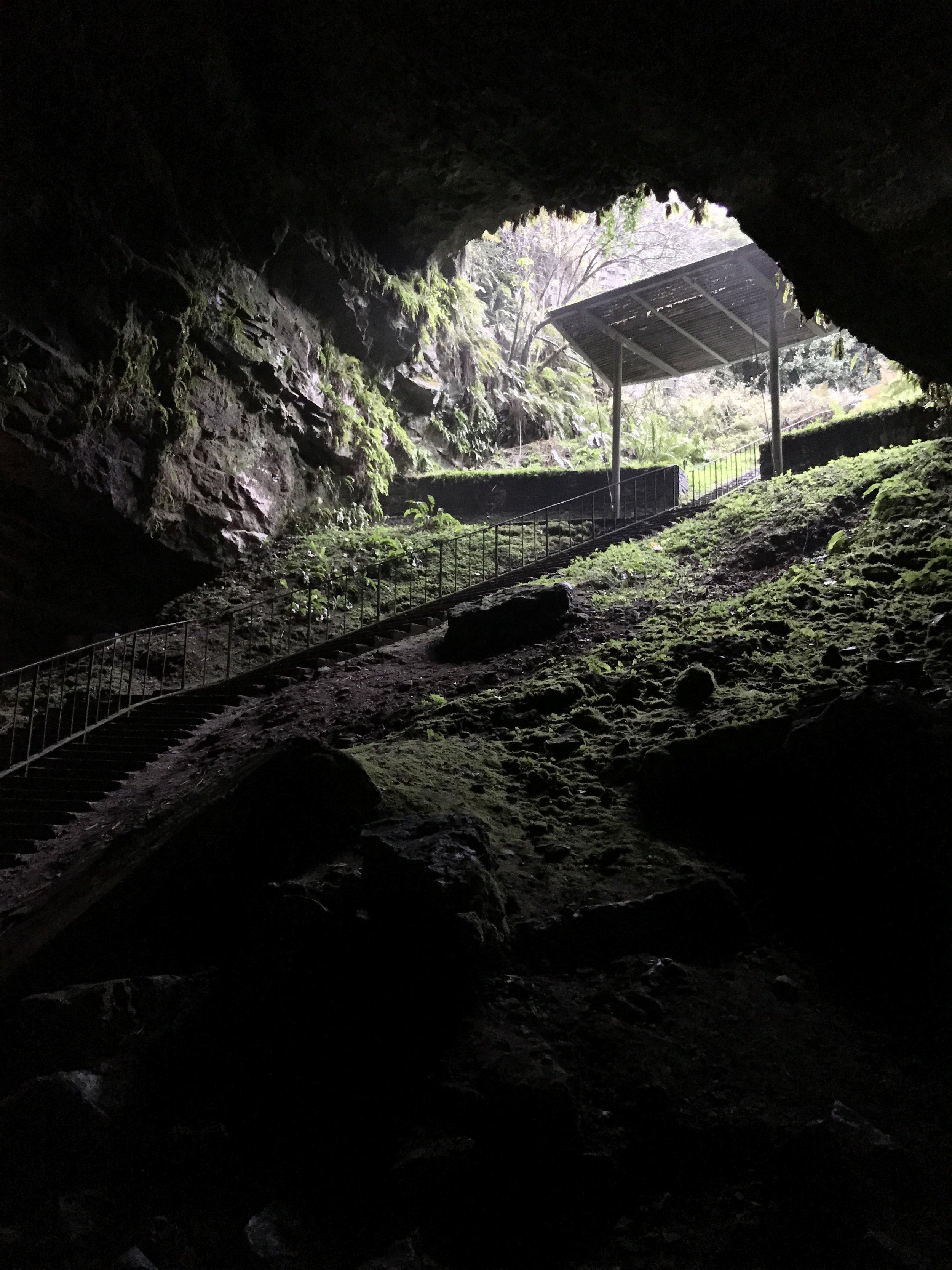 Entrance into Dunmore Cave