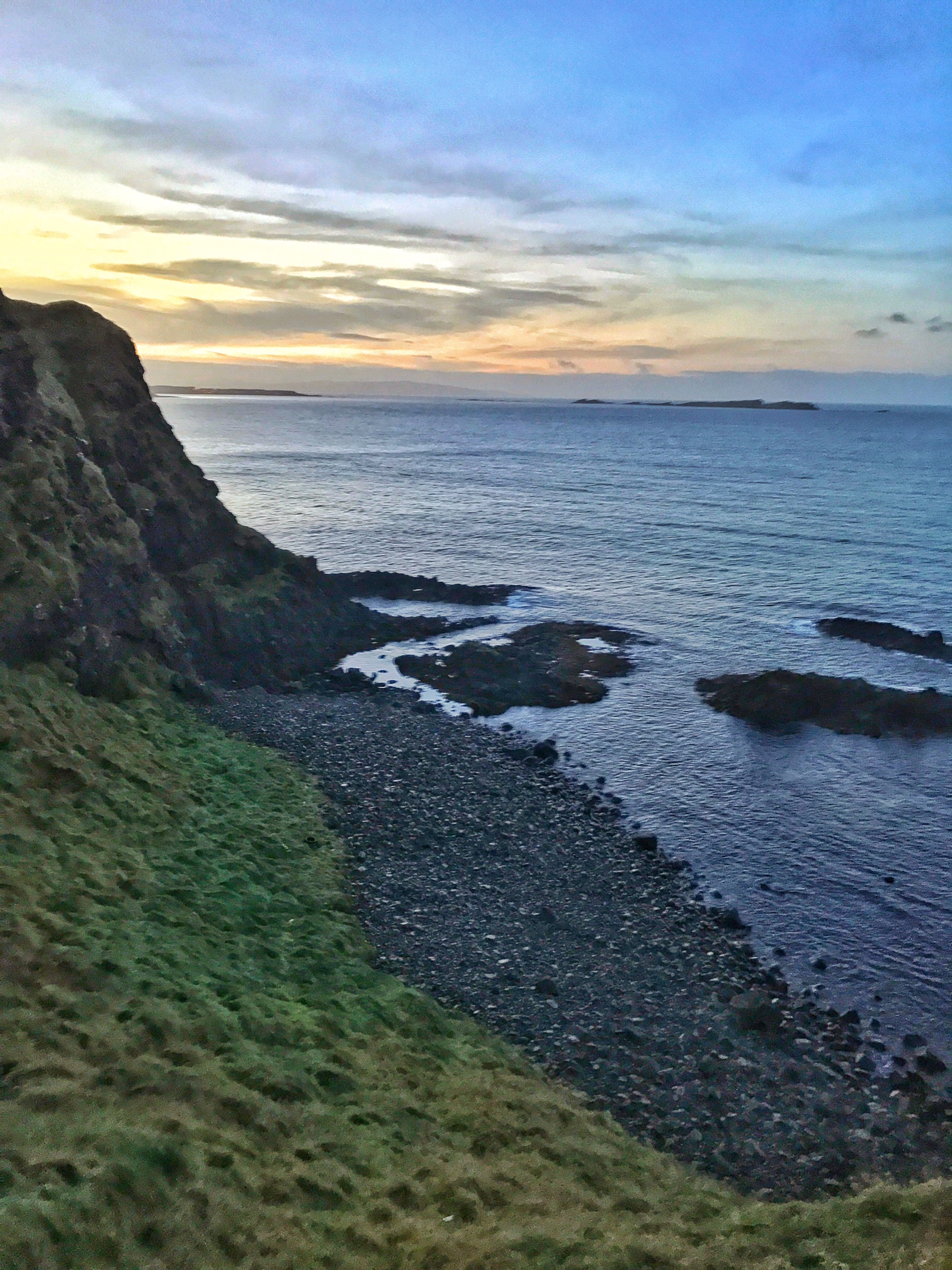 Like the nearby Giant's Causeway, Dunluce Castle has some great coastal views.