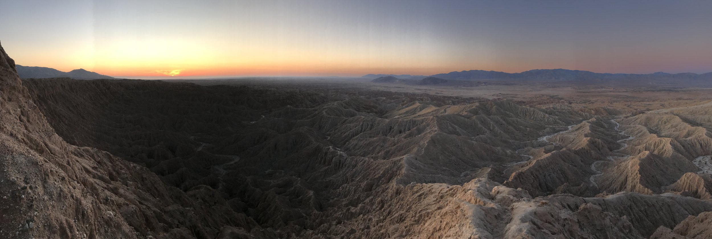 Font's Point is a popular spot to watch both the sunrise and sunset.