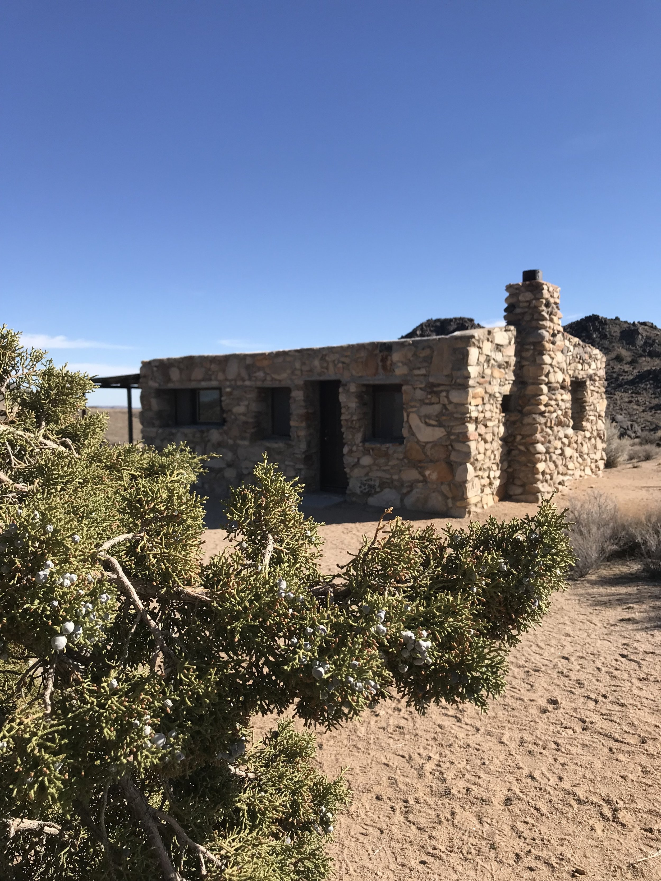 The Rock Spring Cabin was built in 1929 by a World War I poison gas survivor.