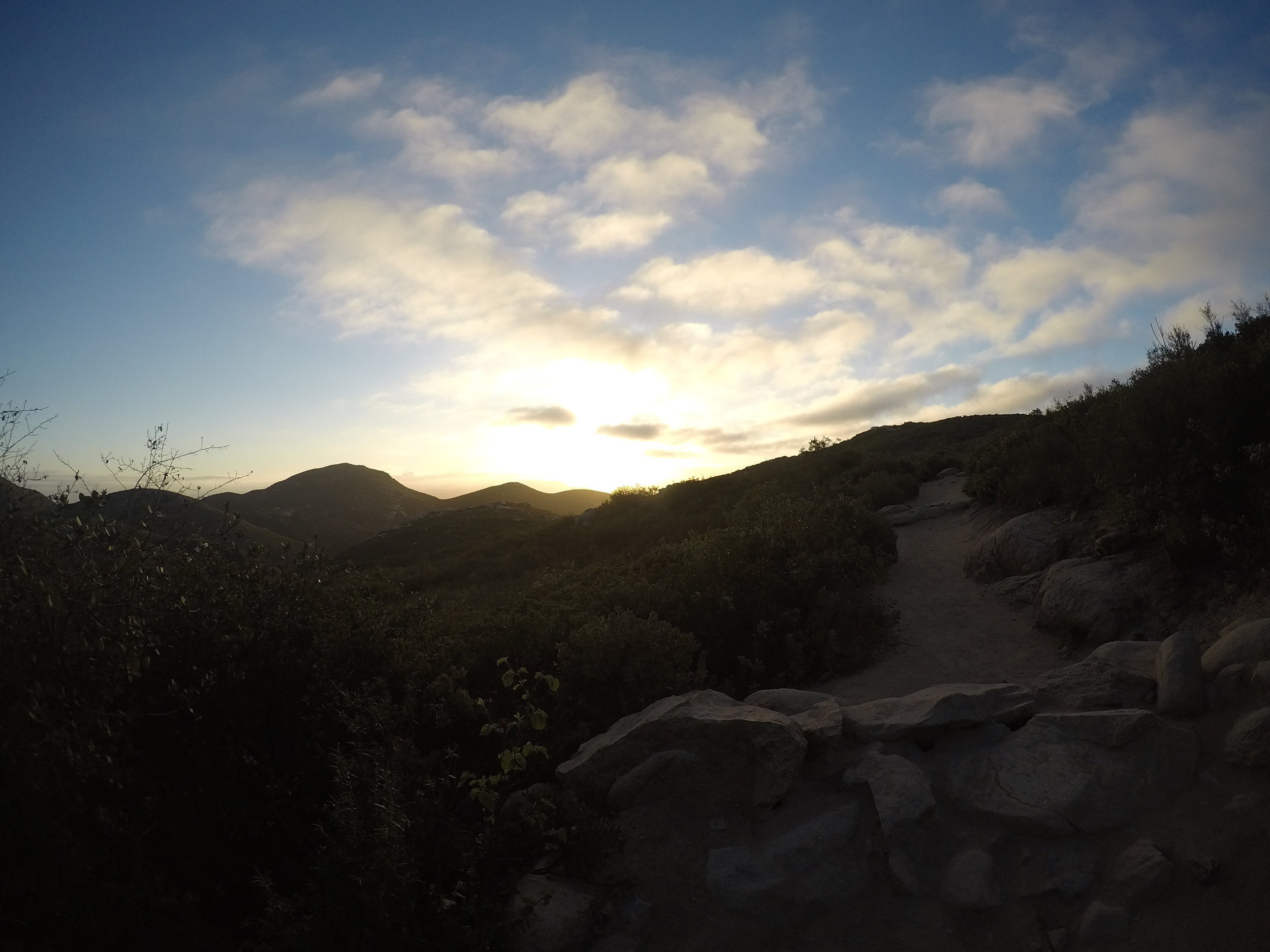 Depending on timing and season, the trail can also provide some great sunrise views on the eastern side as well.