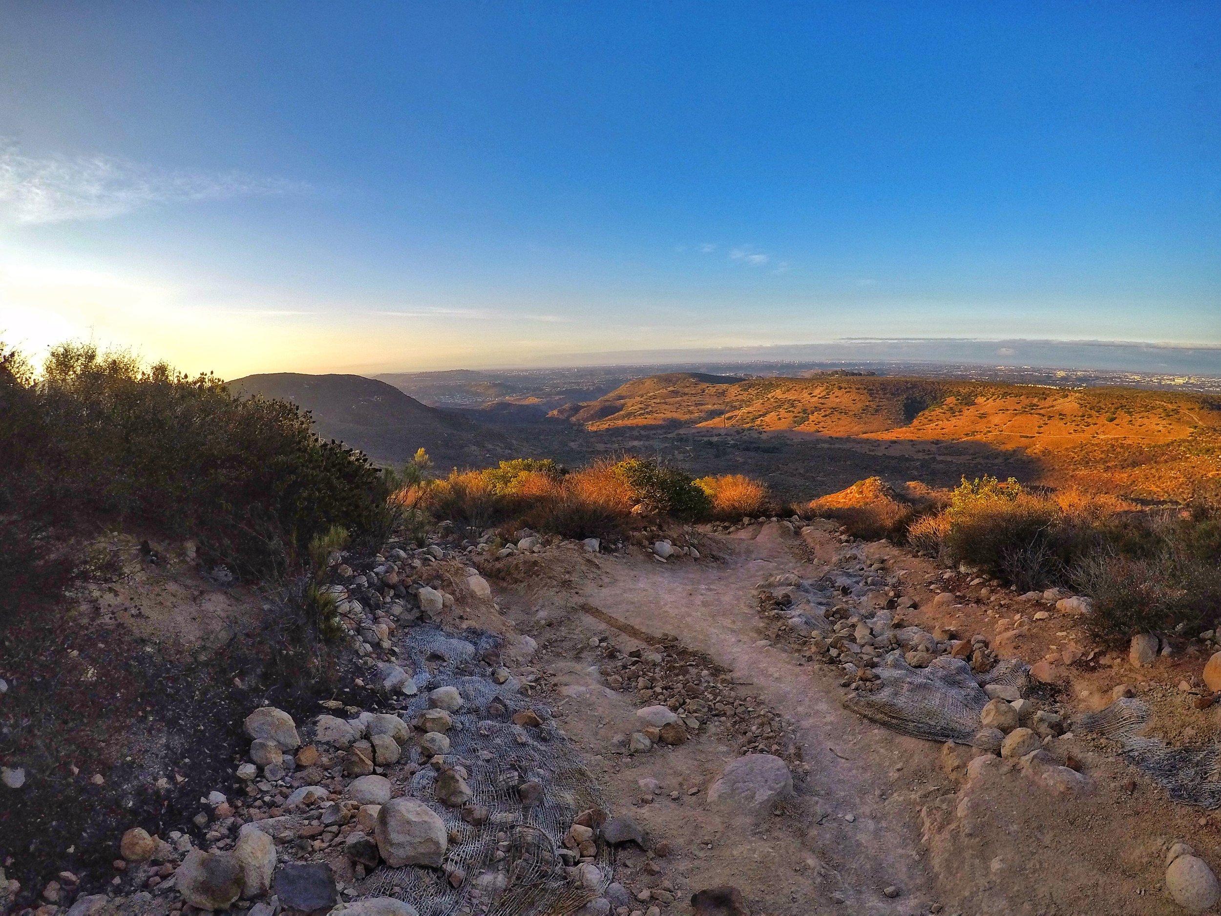 North Fortuna Summit Trail, Mission Trails Regional Park