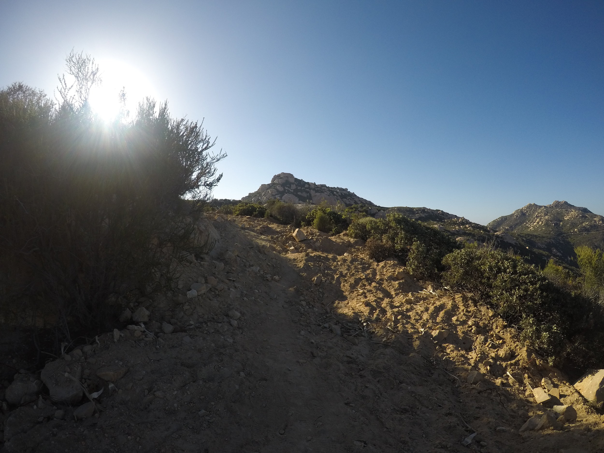 Carveacre Road is steep, and for most of the year, is exposed to direct sunlight, which hikers should be ready for in terms of proper attire, and having enough water.