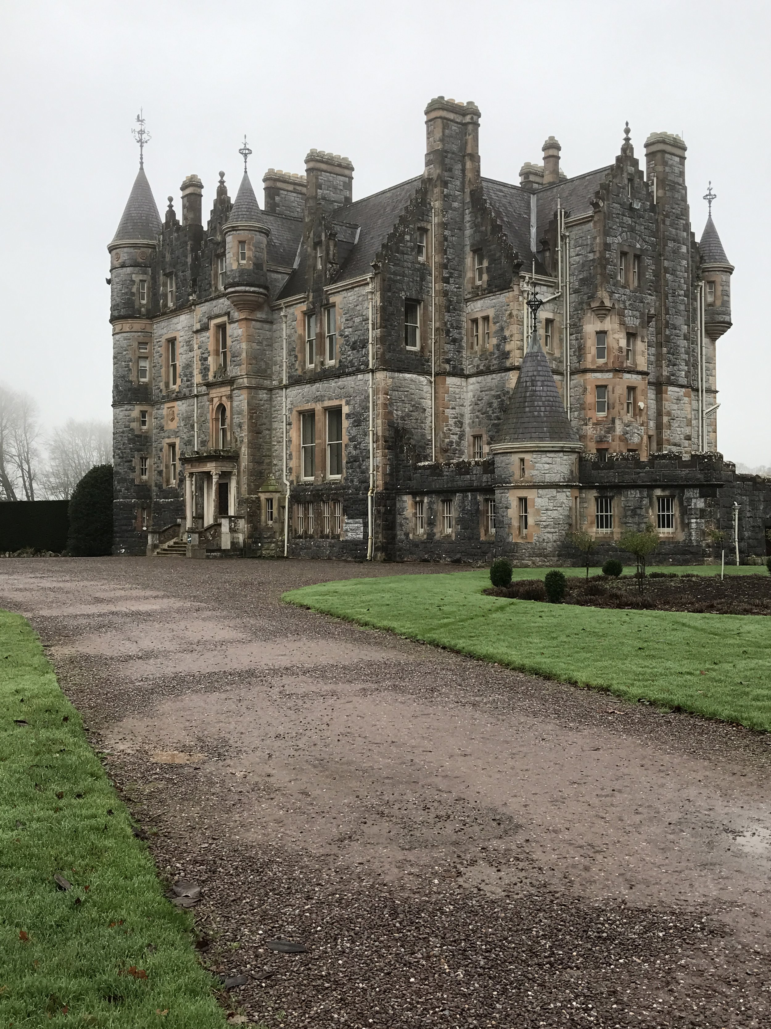 Other than the Castle and Stone, the Blarney grounds also feature a manor house that was constructed at a much later date.