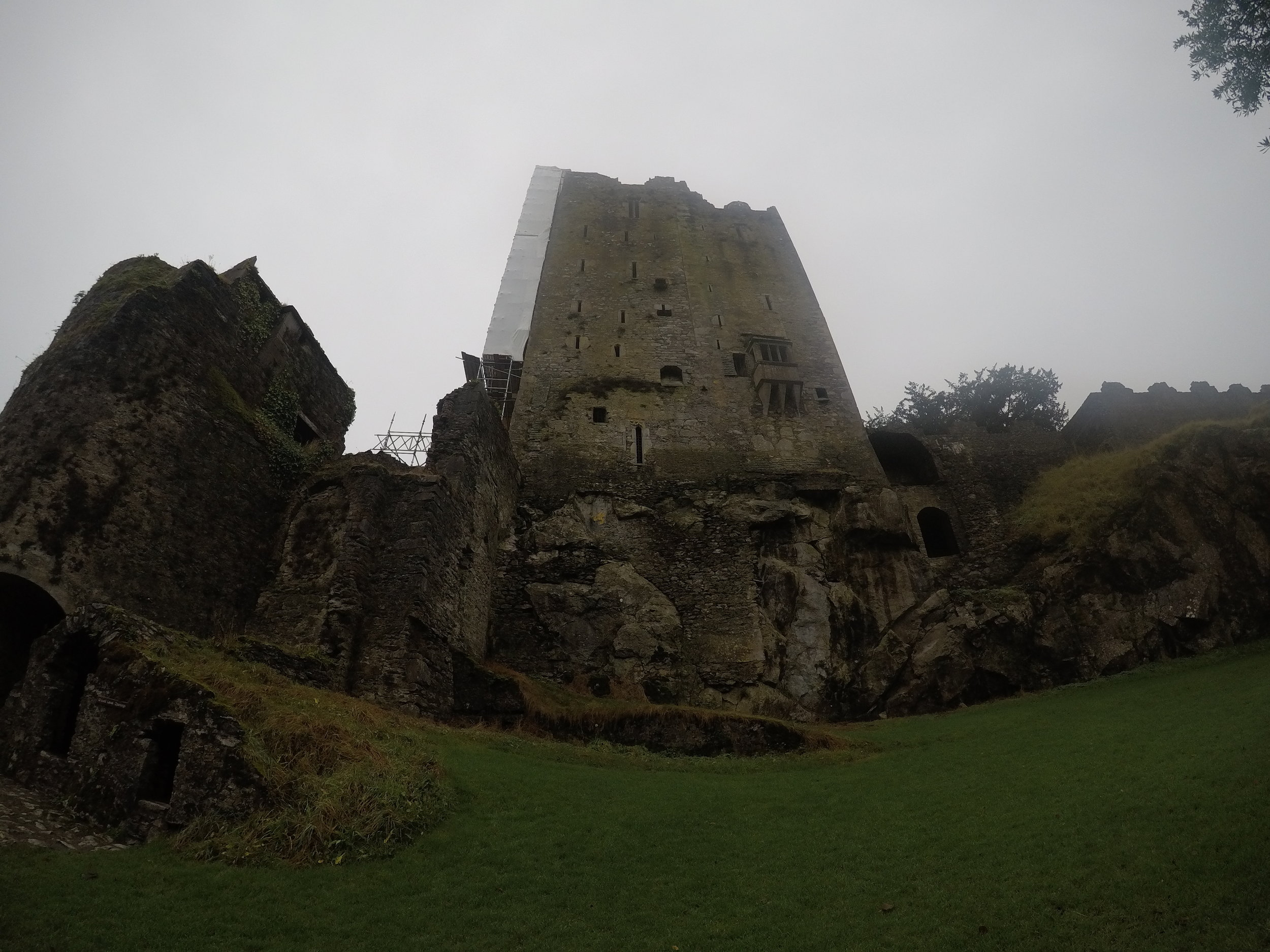 The Castle also sits above a cave that can be toured, that was used by its defenders to safely escape Oliver Cromwell's forces during the seventeenth century.