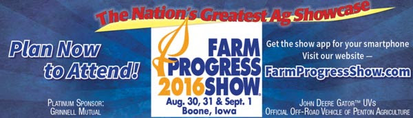 All of the images in this post are from emails I have ACCIDENTALLY RECEIVED. I don't think I'll be headed to Boone, Iowa for the Farm Progress Show.