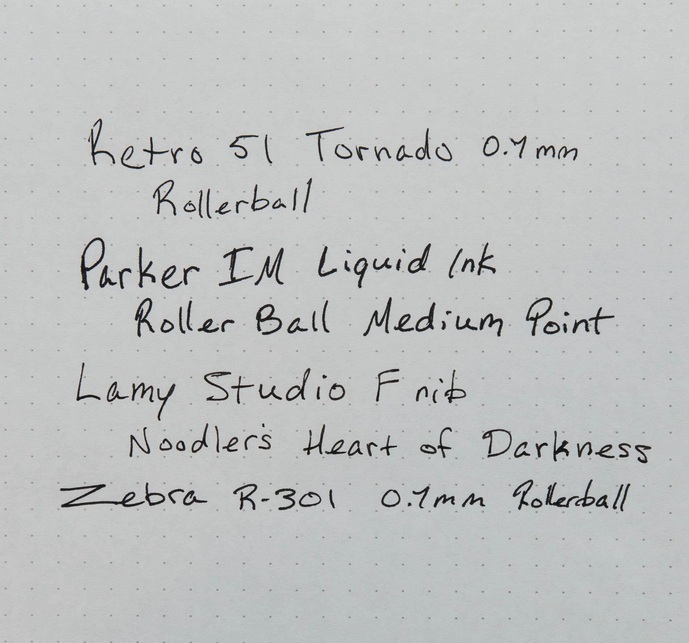 Parker IM Roller Ball Samples.jpg