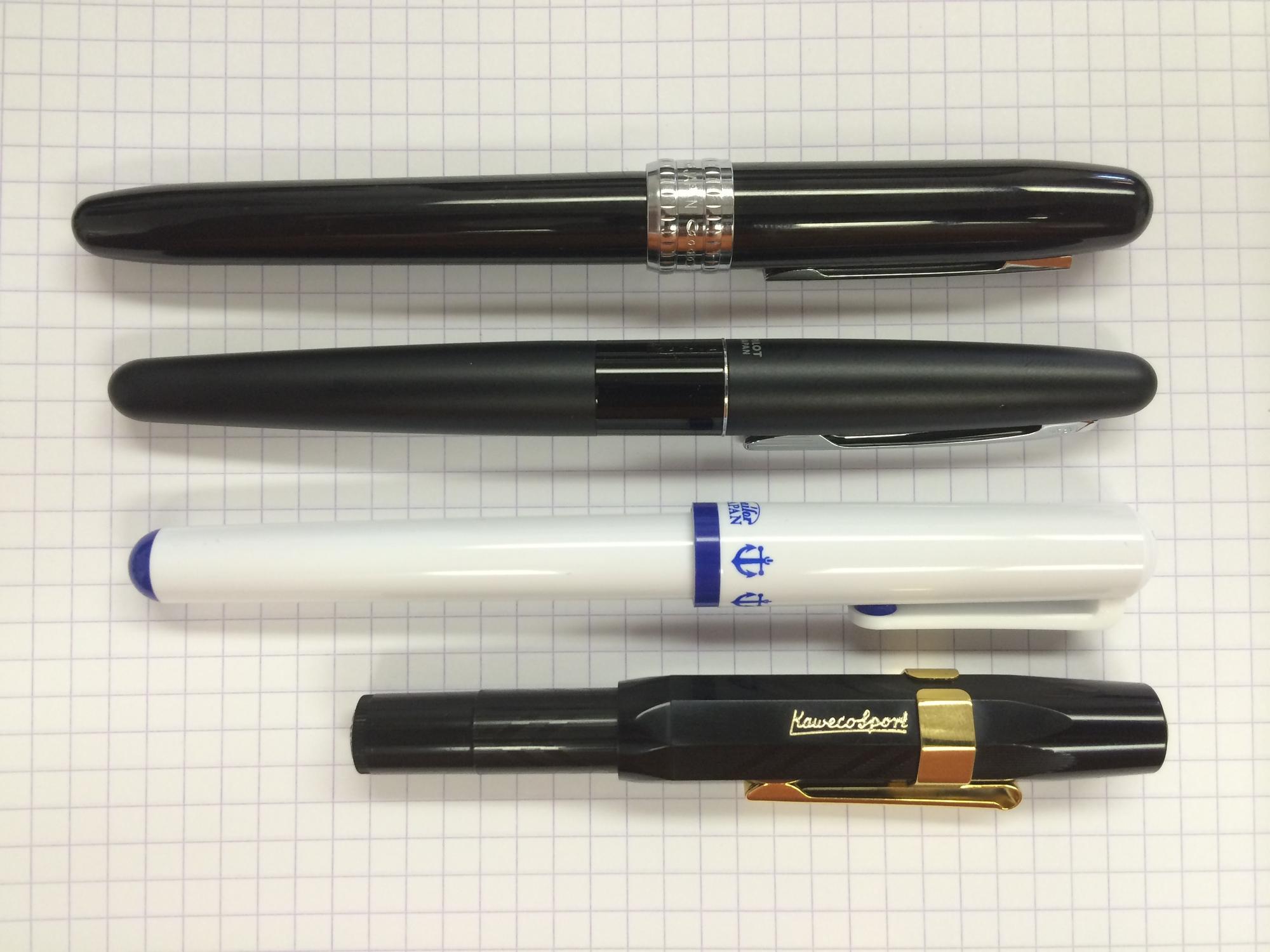 Pilot Metropolitan Collection Fountain Pen Fin... Classic Design Black Barrel