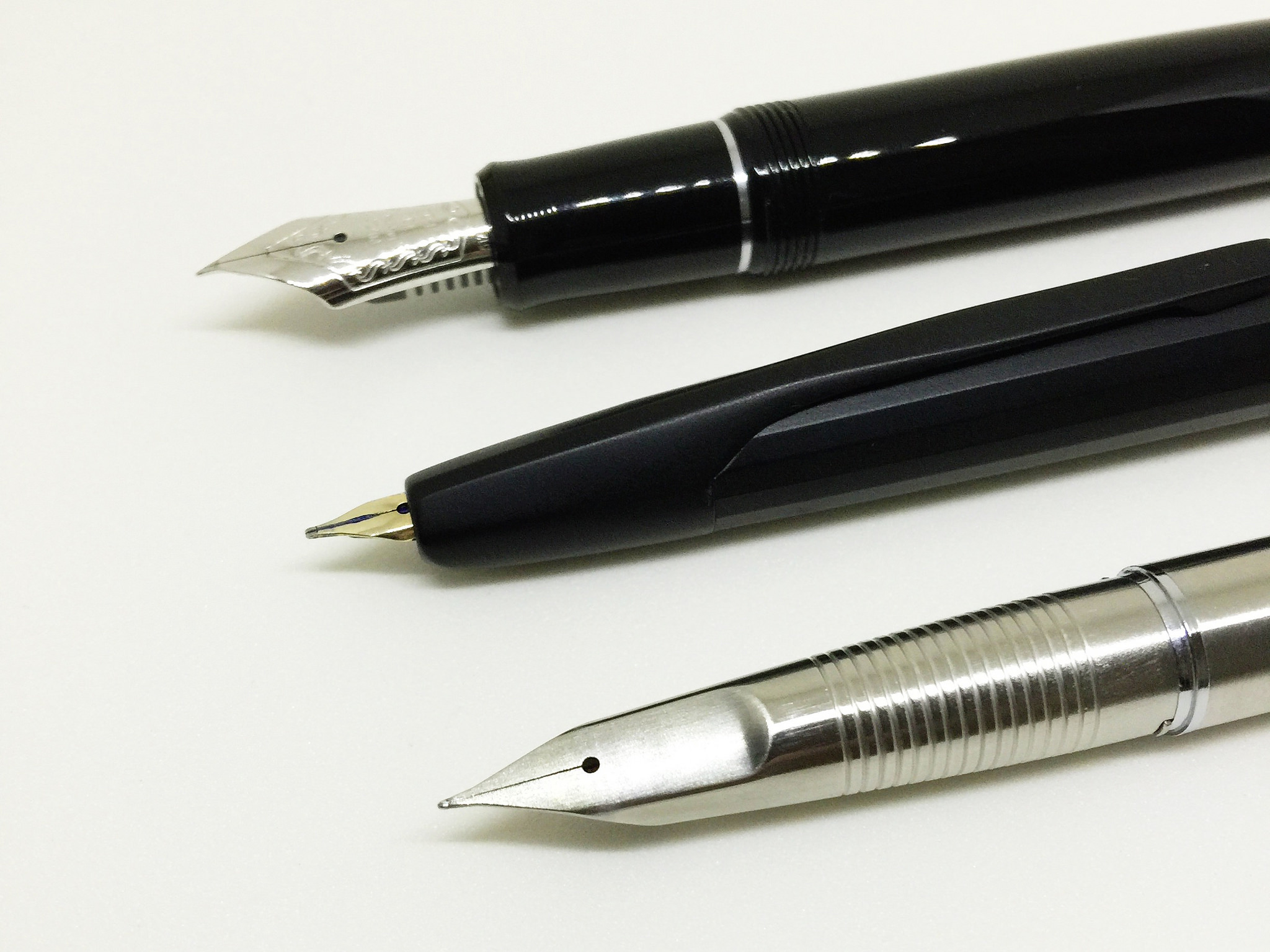 Unique nibs are a priorityin this list.