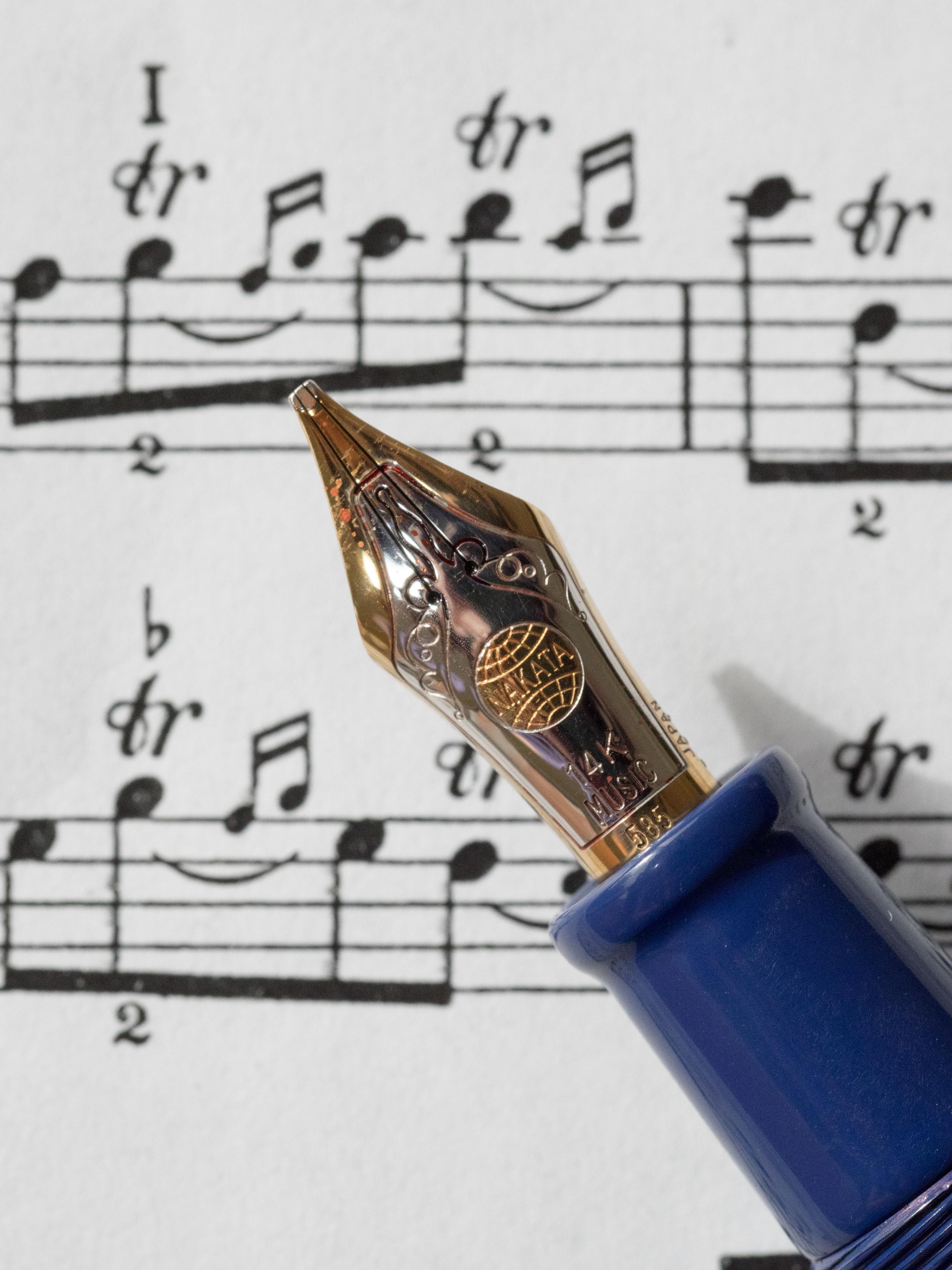 Nakaya Music Nib