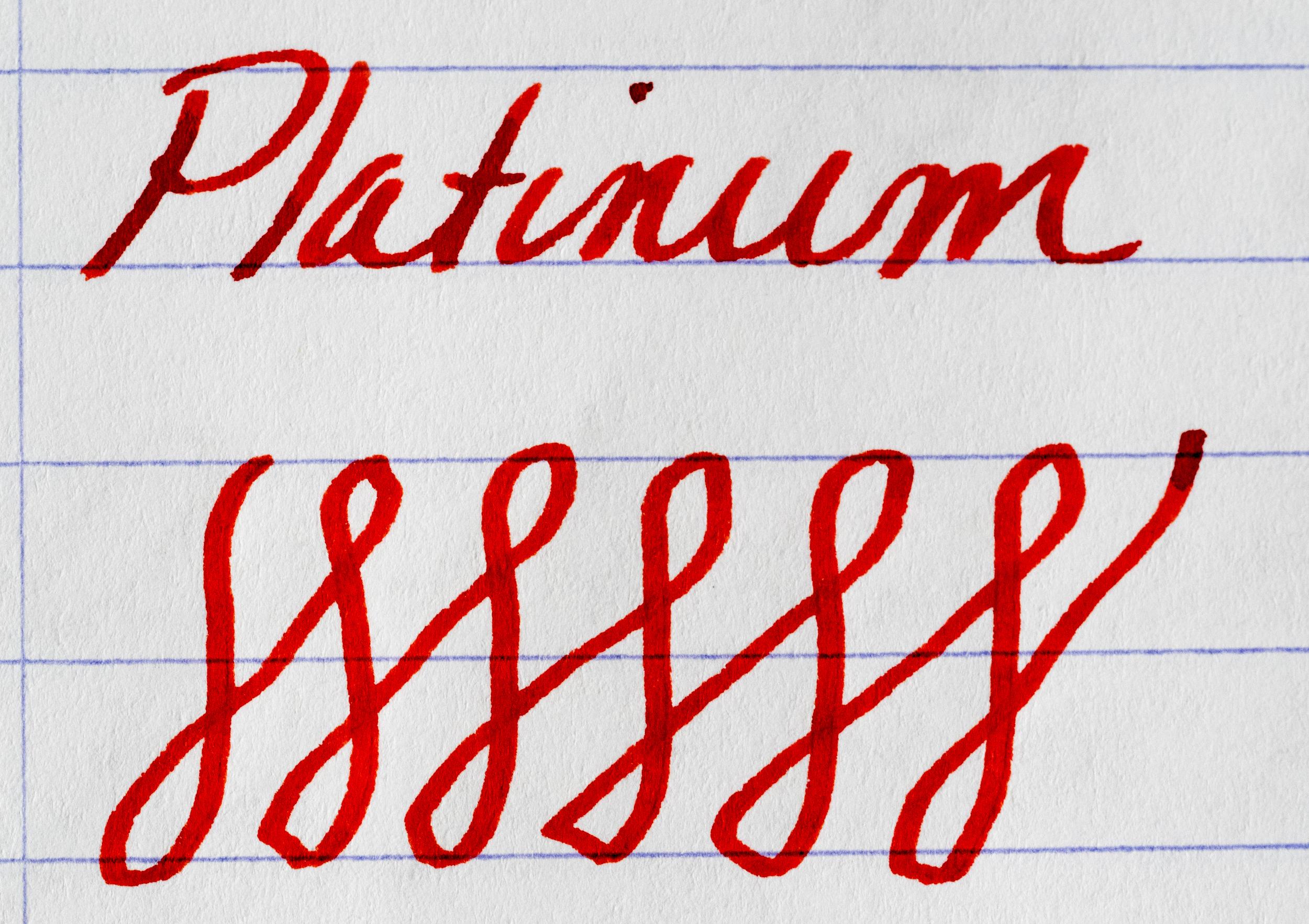 Platinum Music Nib