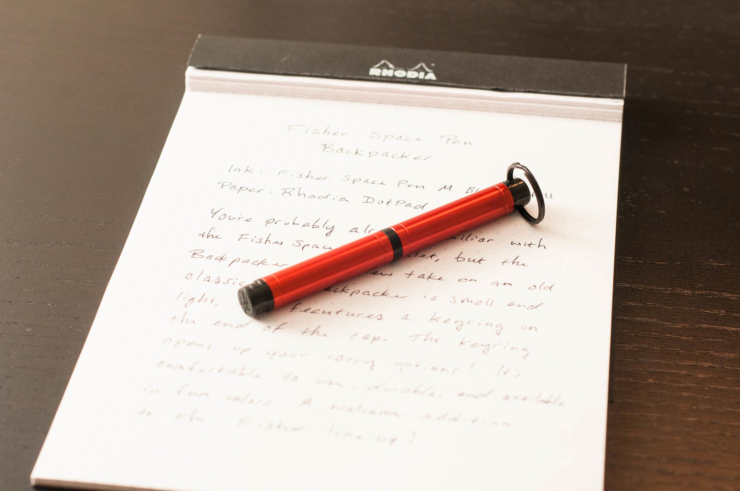 Fisher Space Explorer Pen Silver