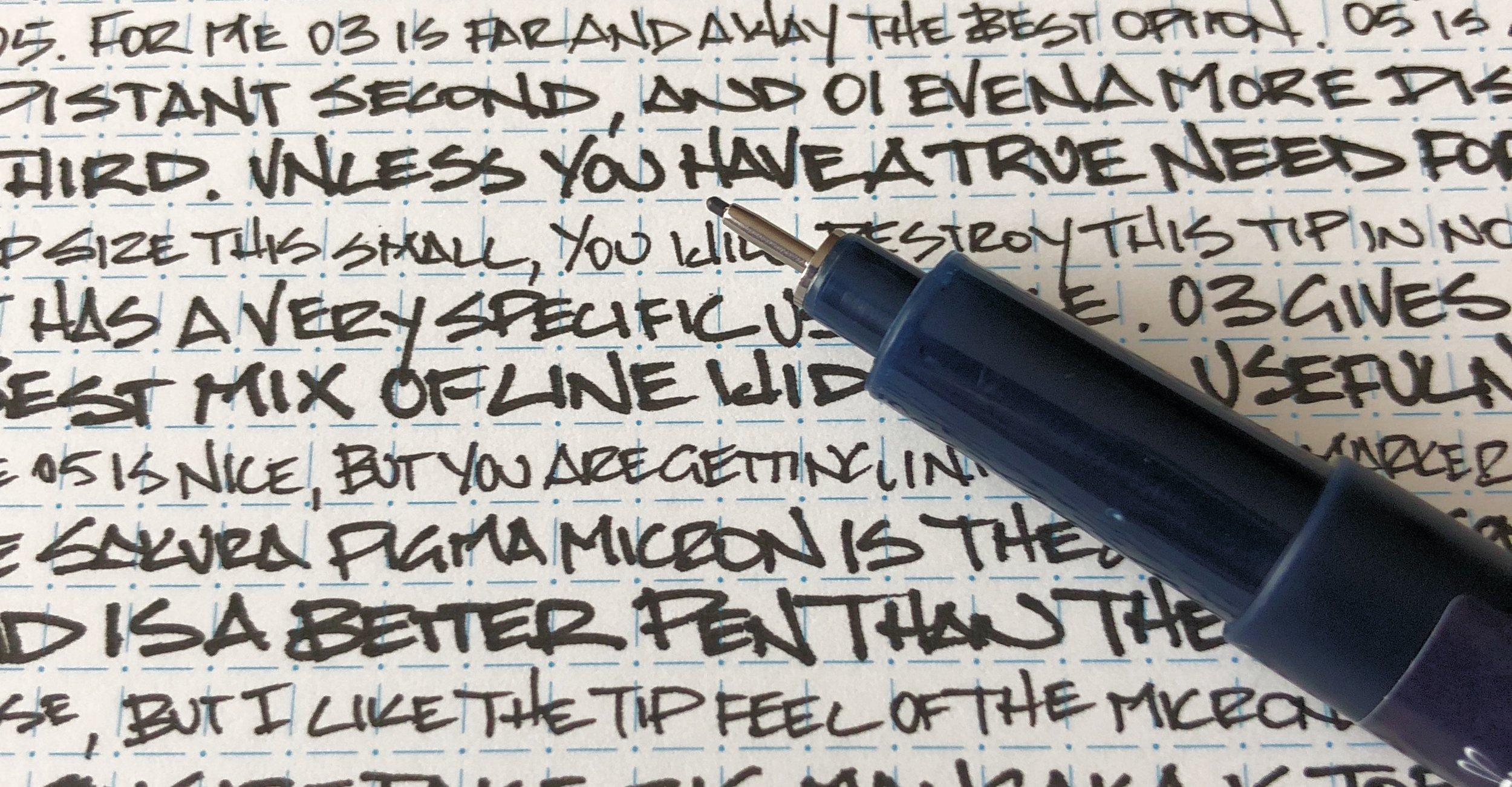 Tombow Mono Drawing Pen Writing