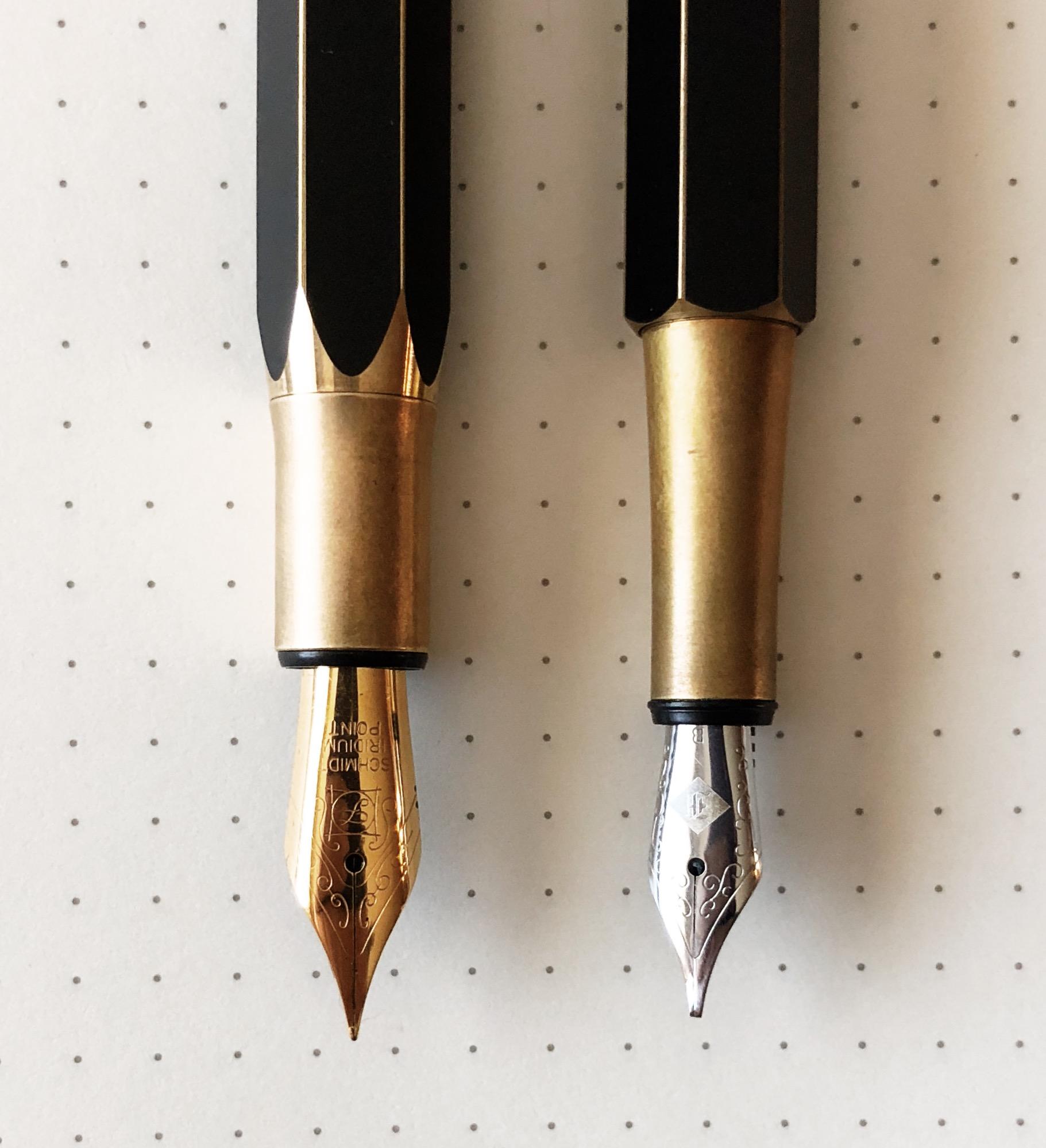 ystudio Brassing Desk Fountain Pen nib