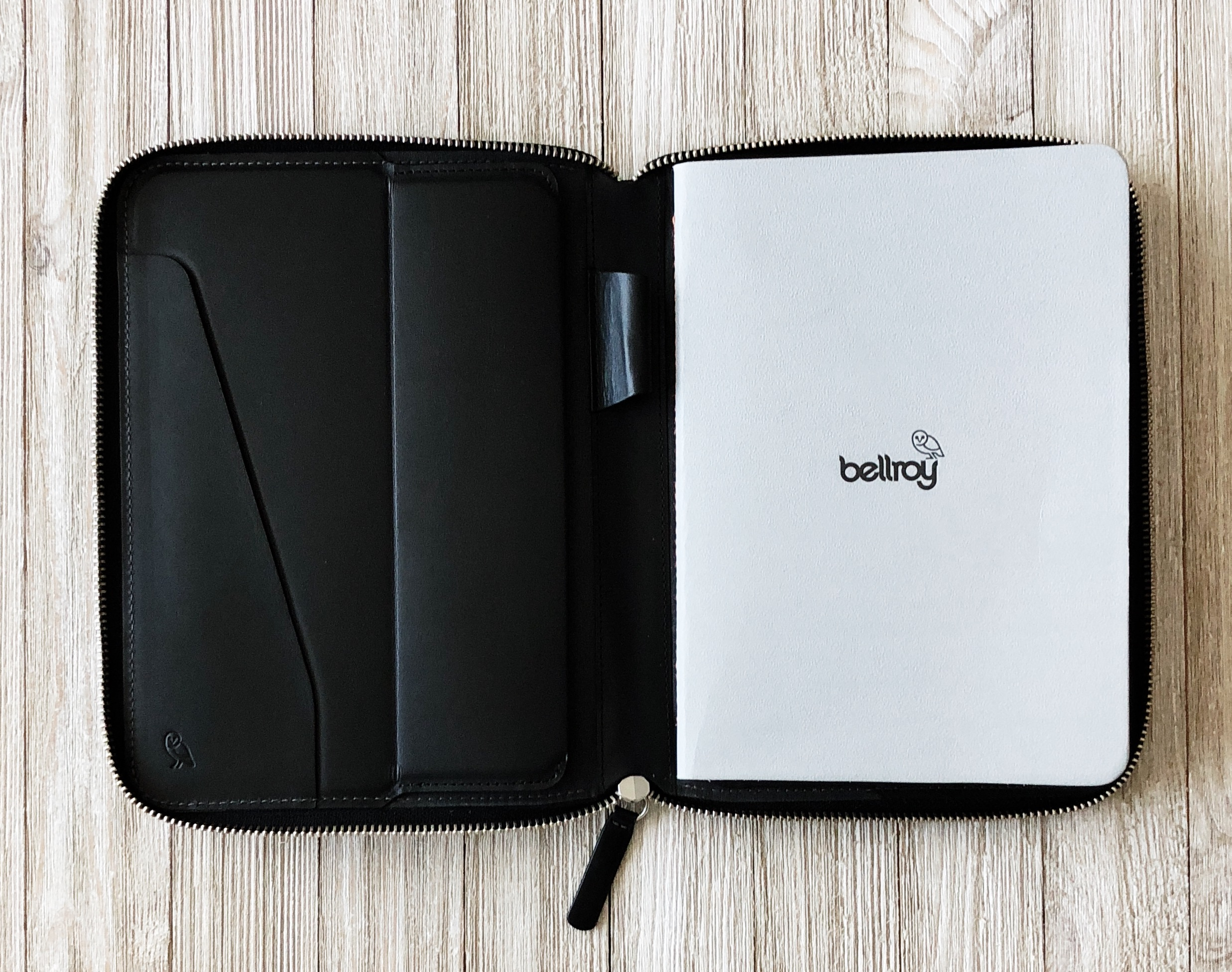 Bellroy Work Folio Open