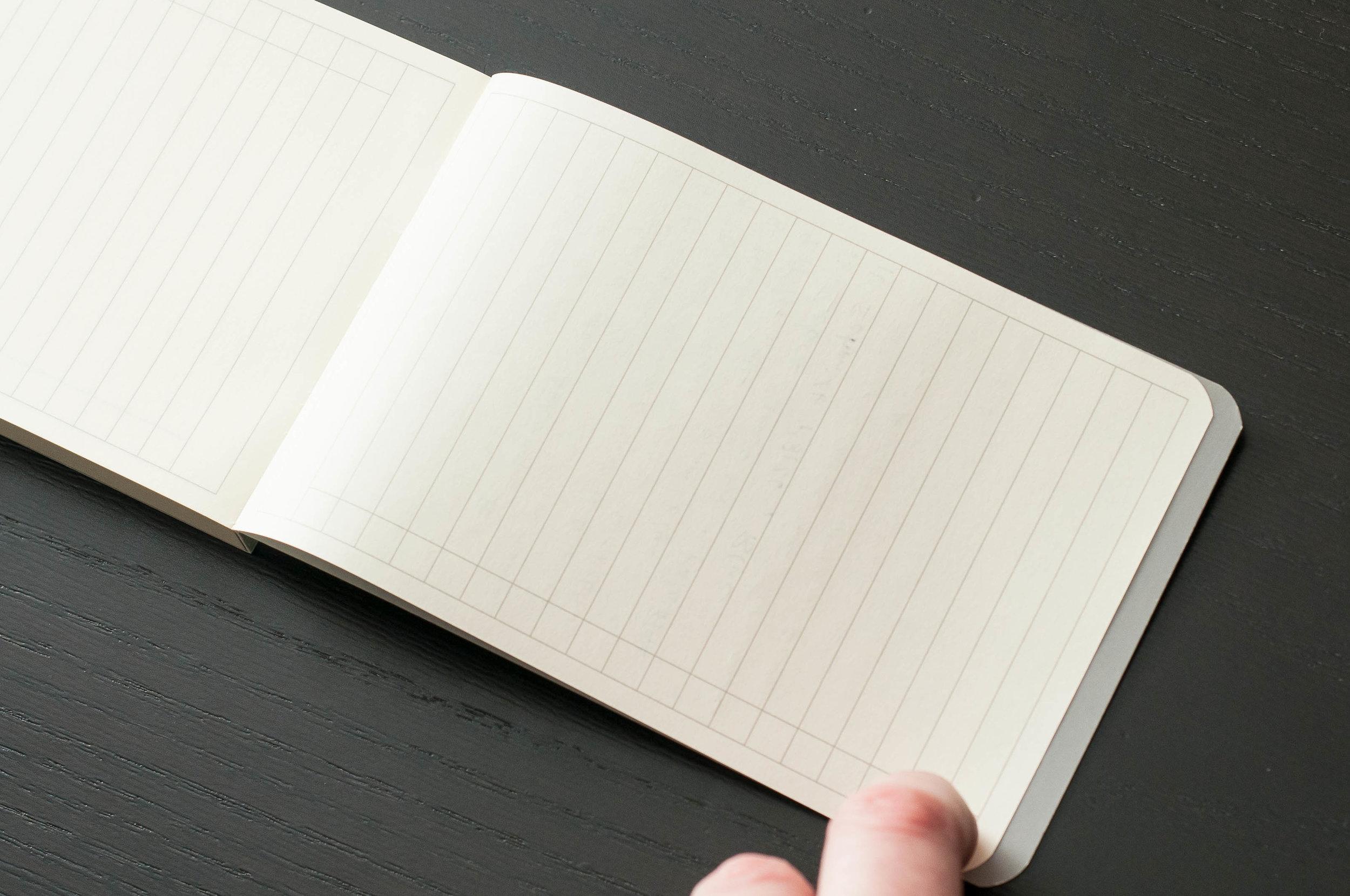 DesignWorks Note Pad Open