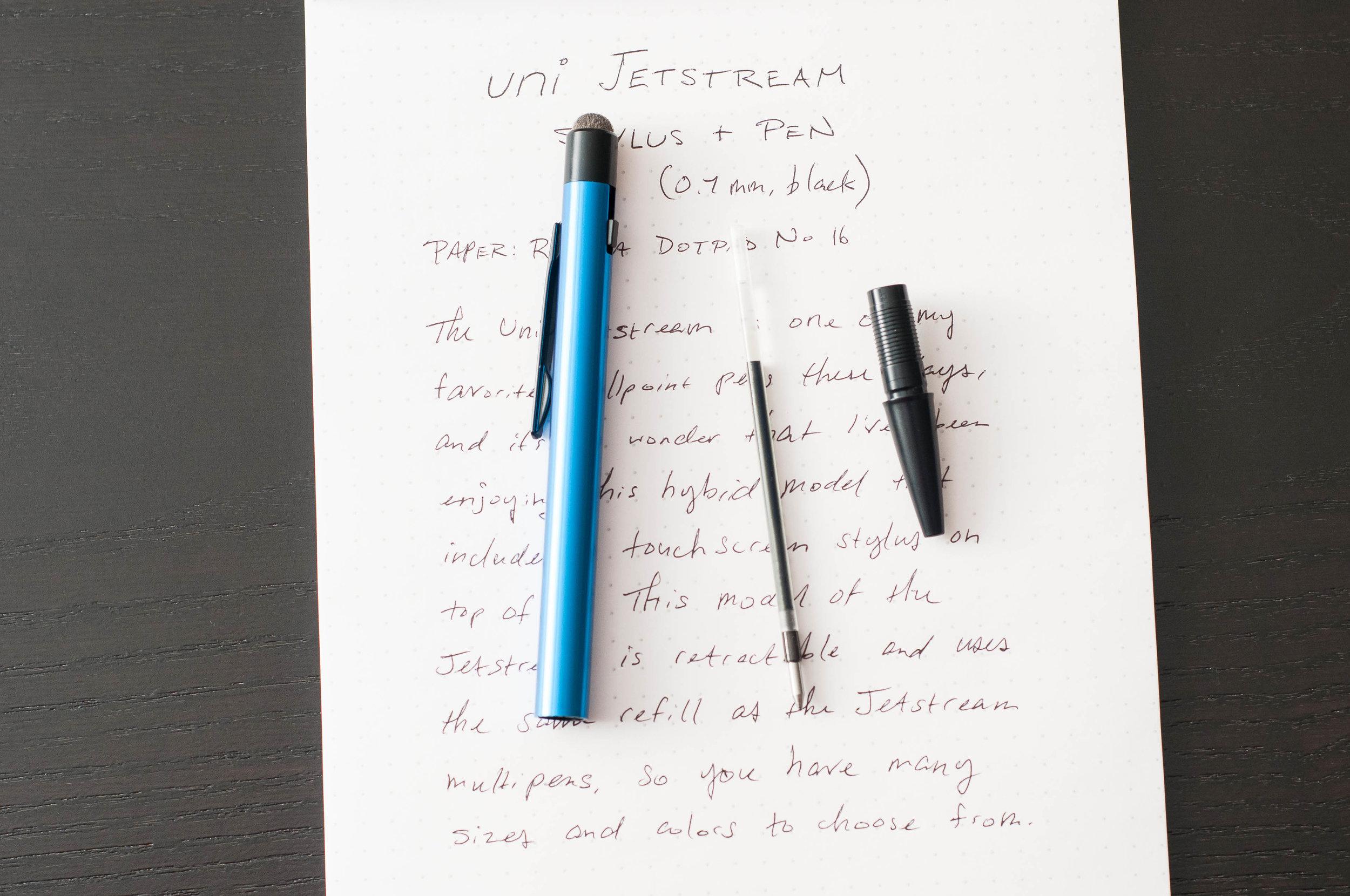 Uni Jetsteam Stylus Ballpoint Pen Refill