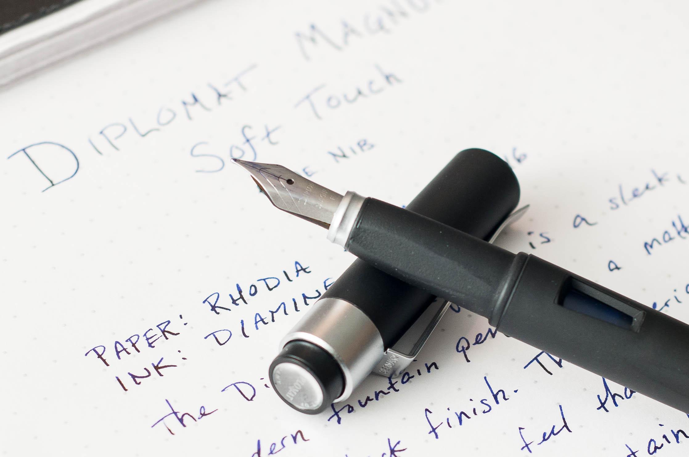 Diplomat Magnum Fountain Pen Grip