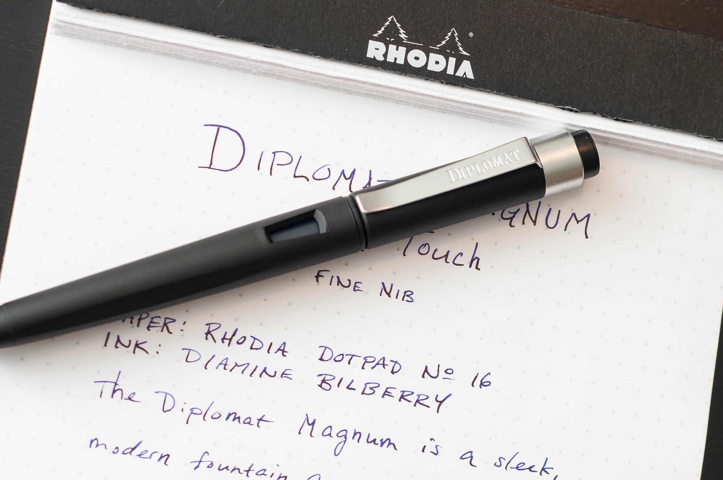 Diplomat Magnum Fountain Pen Clip