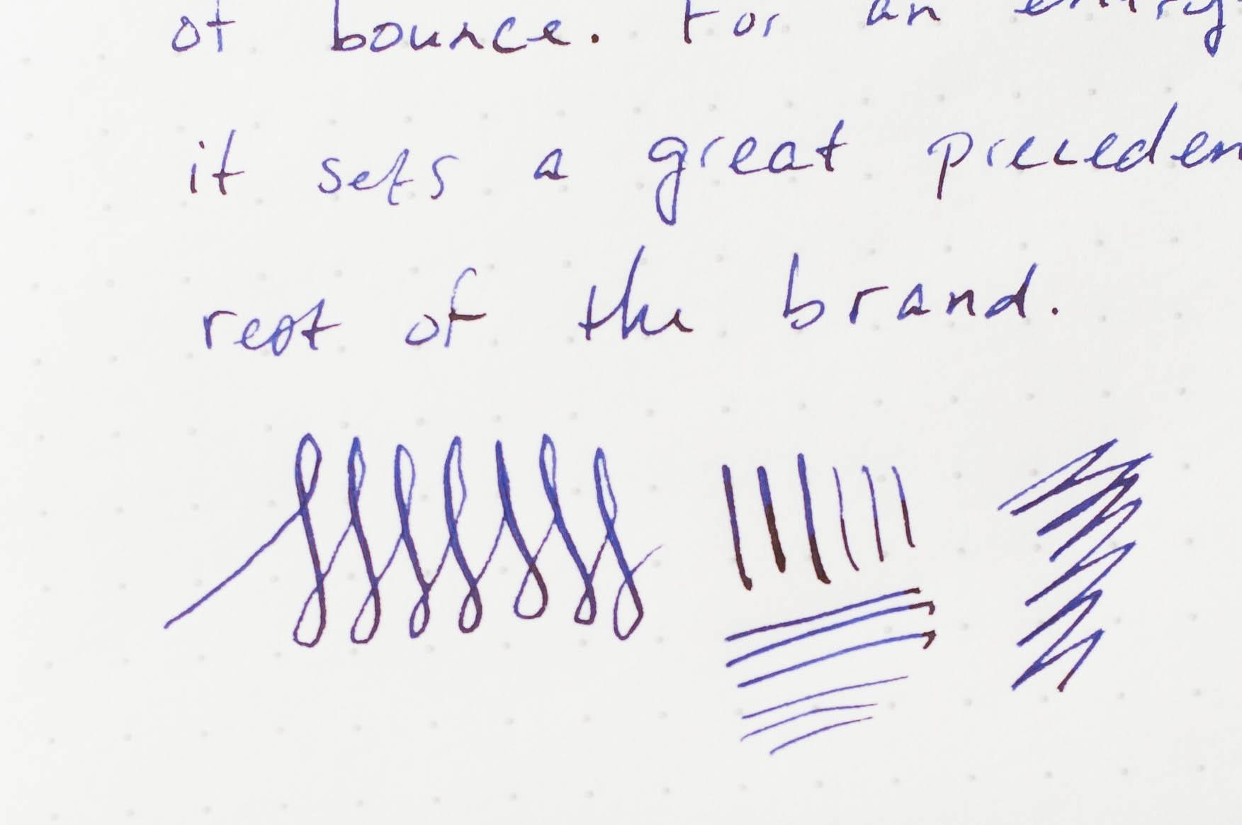 Diplomat Magnum Fountain Pen Writing