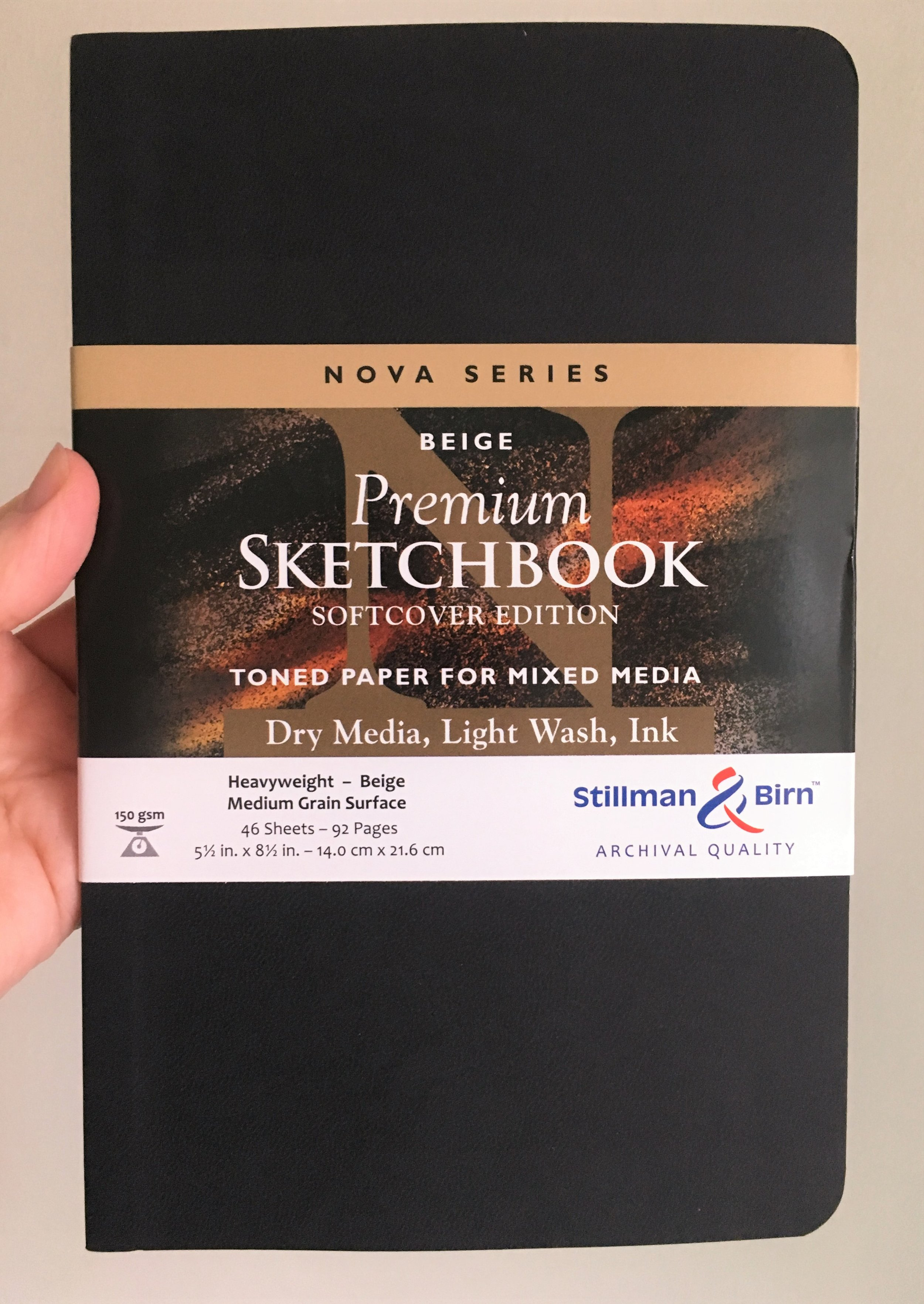 Stillman & Birn Nova Sketchbook Review