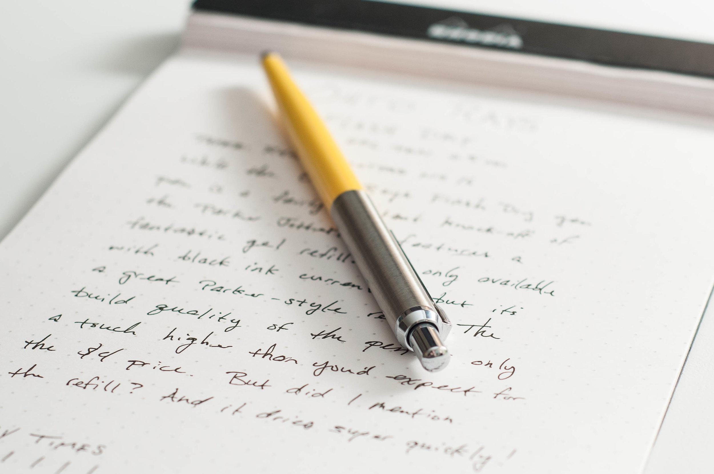 Ohto Ray Flash Gel Pen Knock