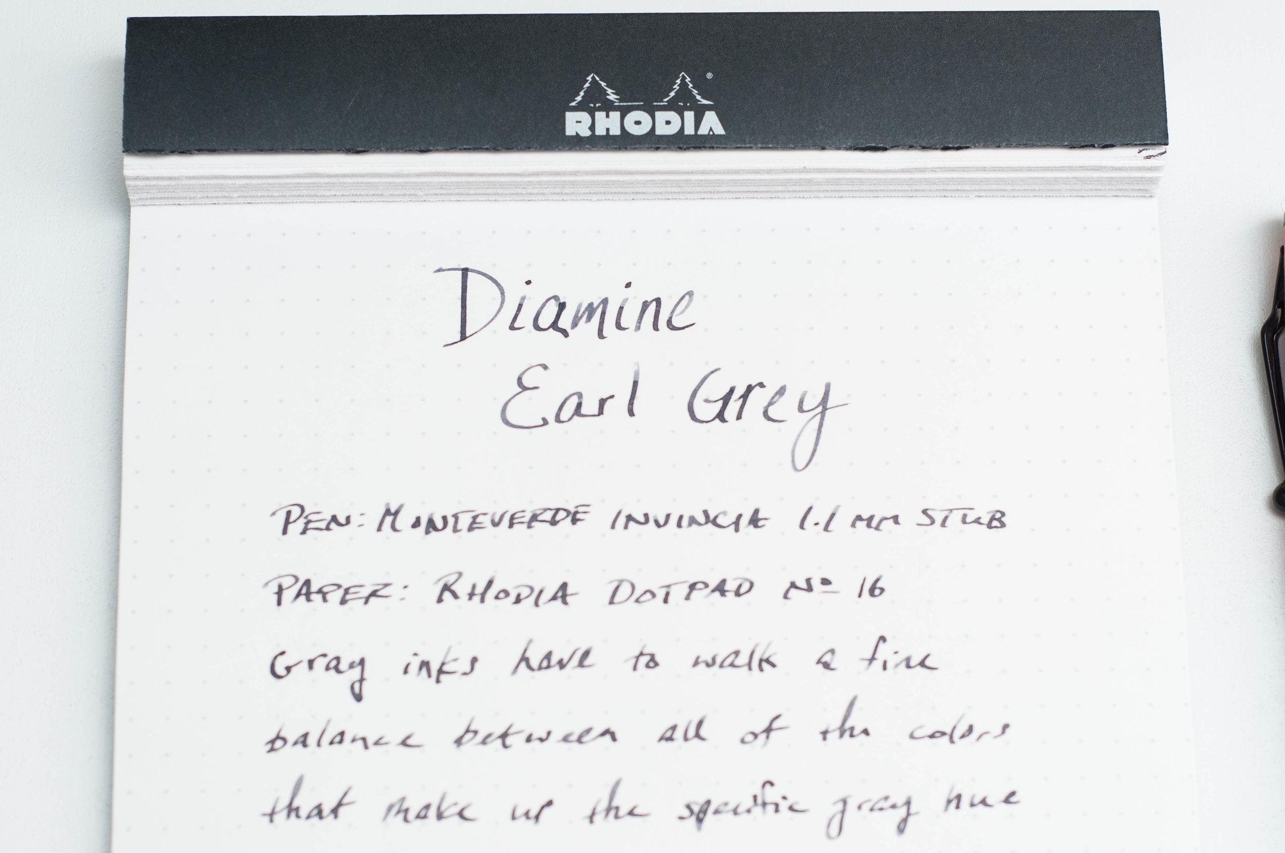 Diamine Earl Grey Ink