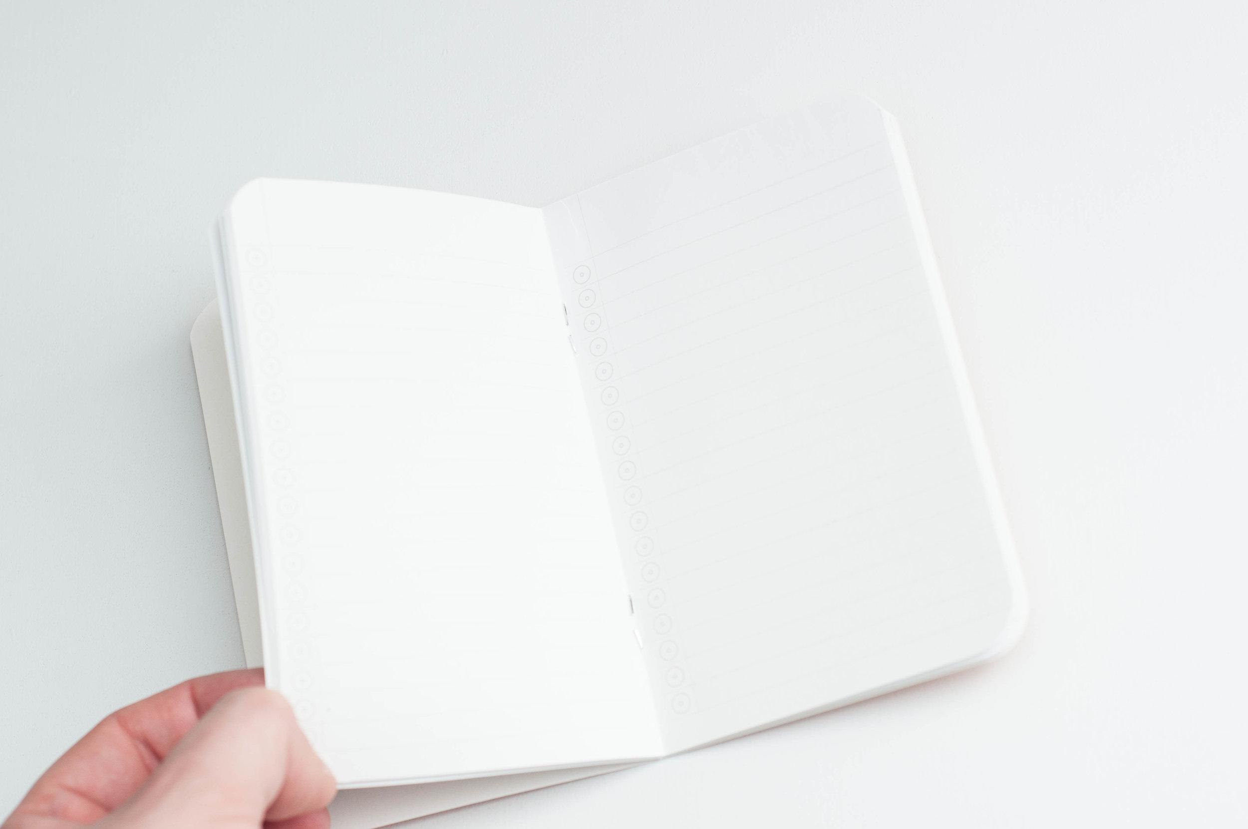 Word Notebooks Inside