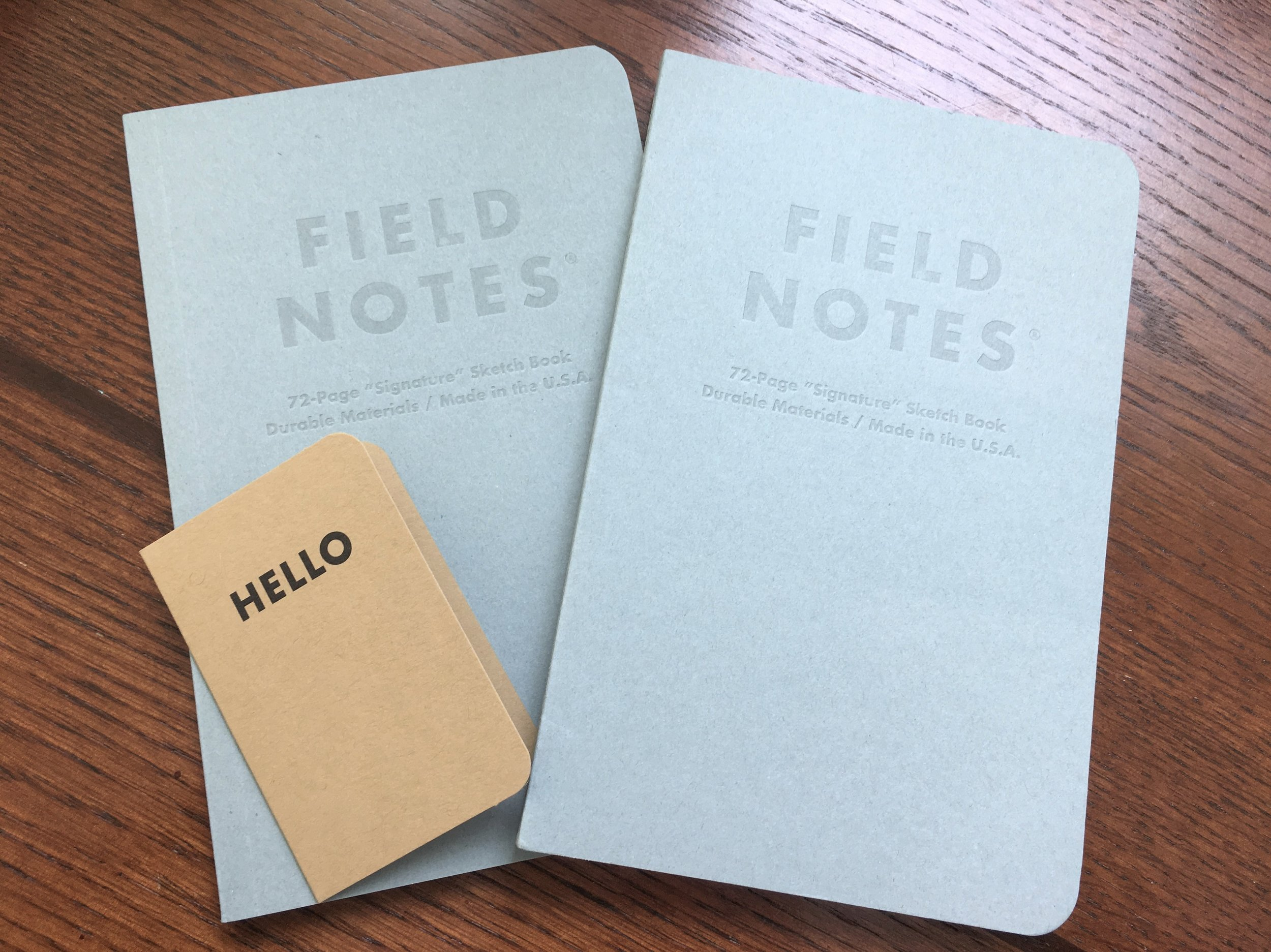 Field Notes Signature Sketch Book Cover