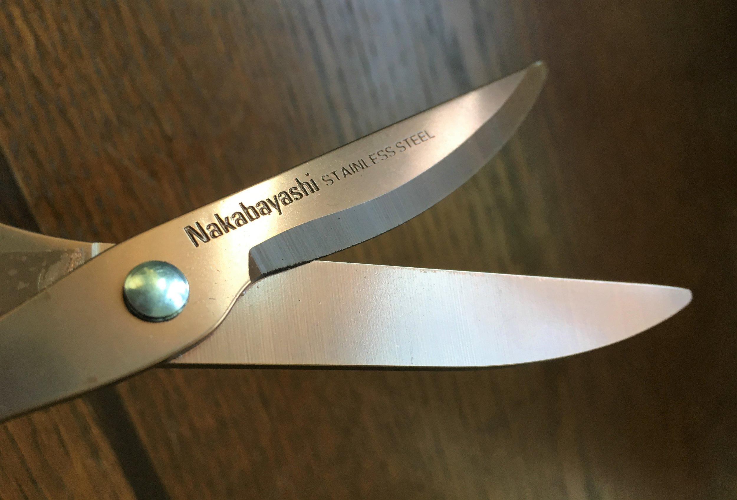 Nakabayashi Hikigiri Slim Scissors Sharp