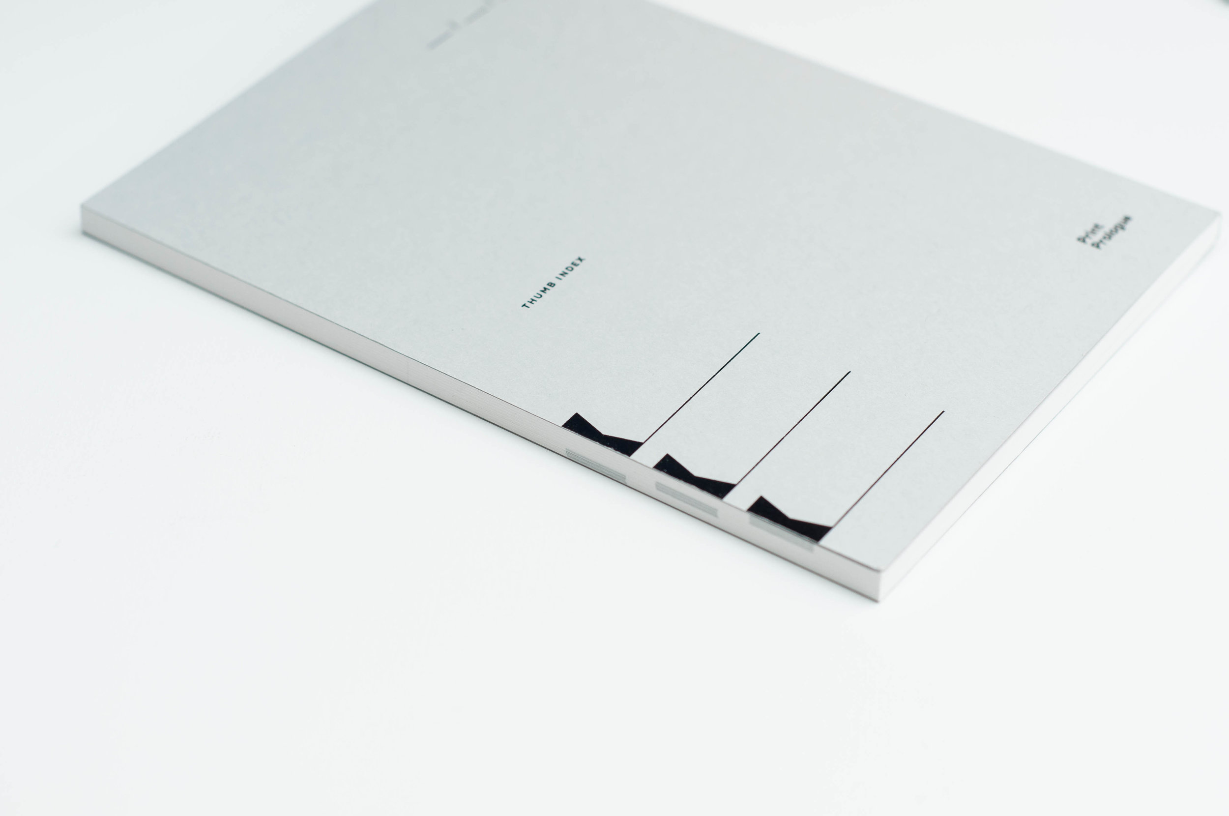Print Prologue Notebook Back Cover