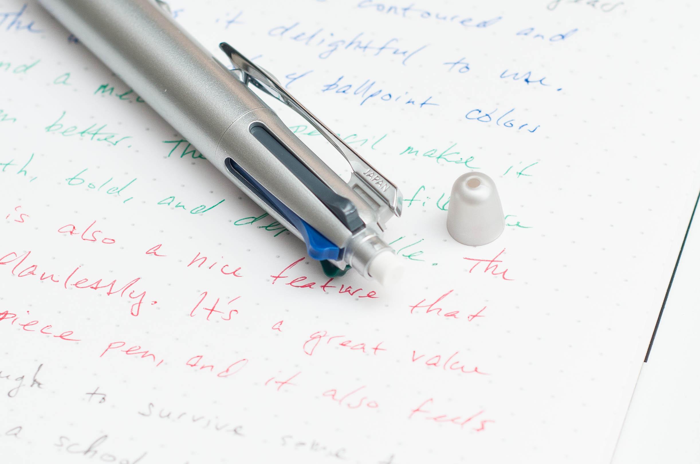 Pilot Dr. Grip 4+1 4-Color Multi Pen Eraser