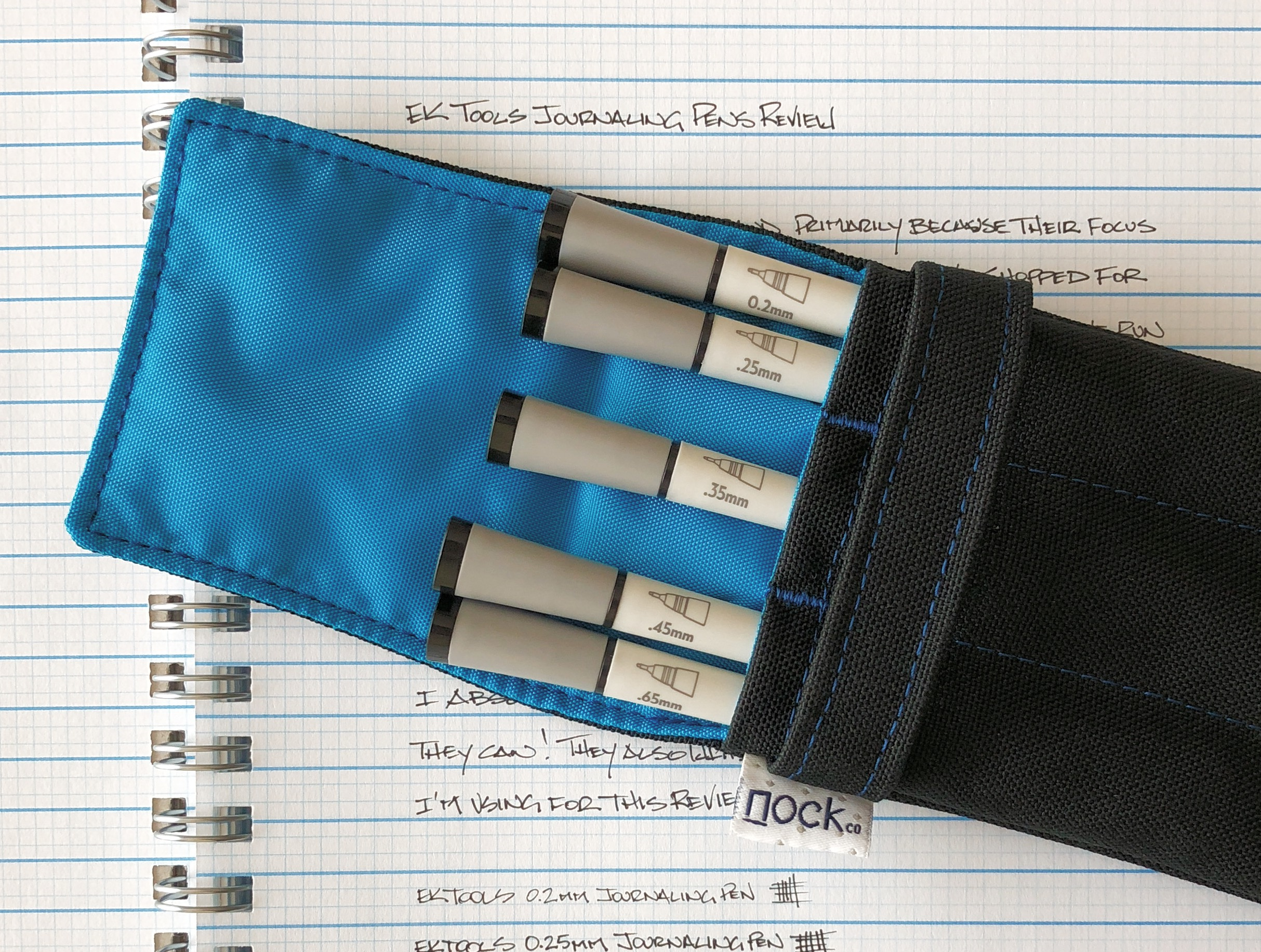 EK Tools Journaling Pen Case
