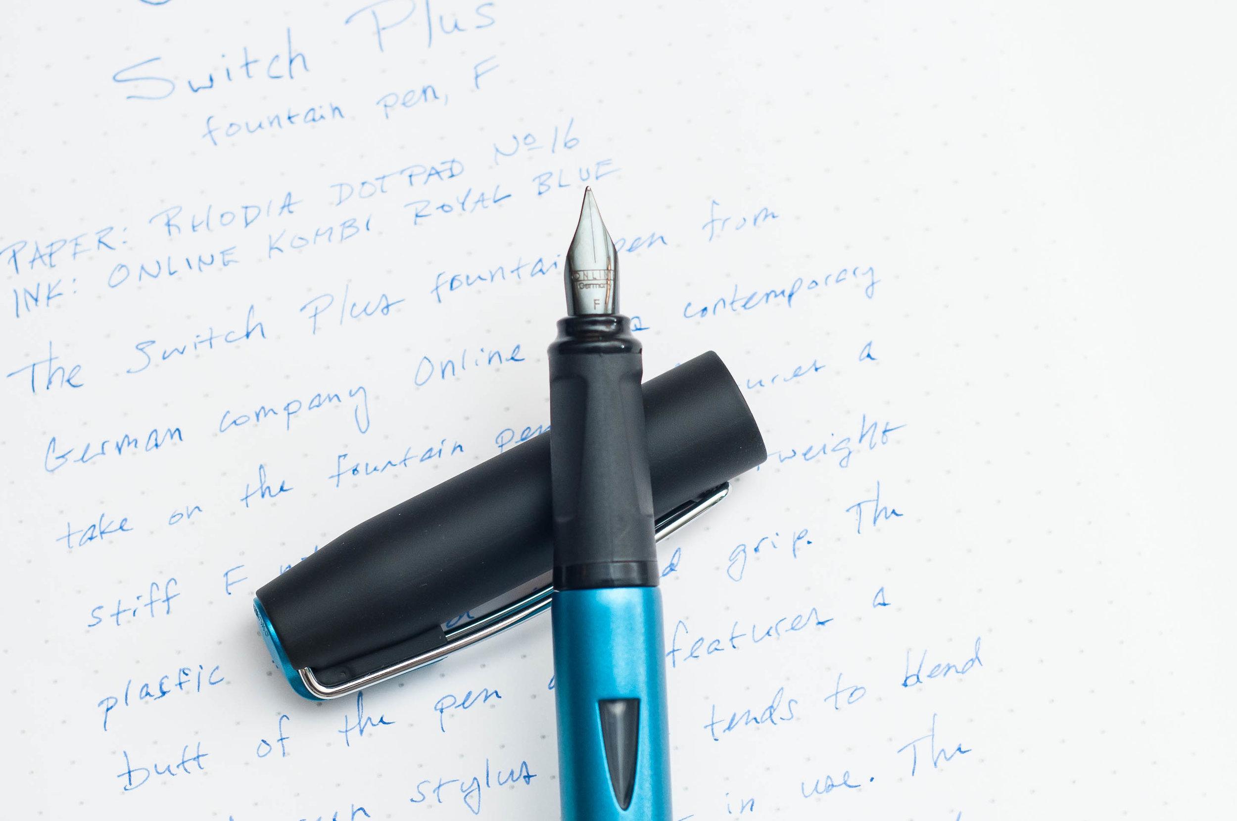 Online Switch Plus Fountain Pen Grip